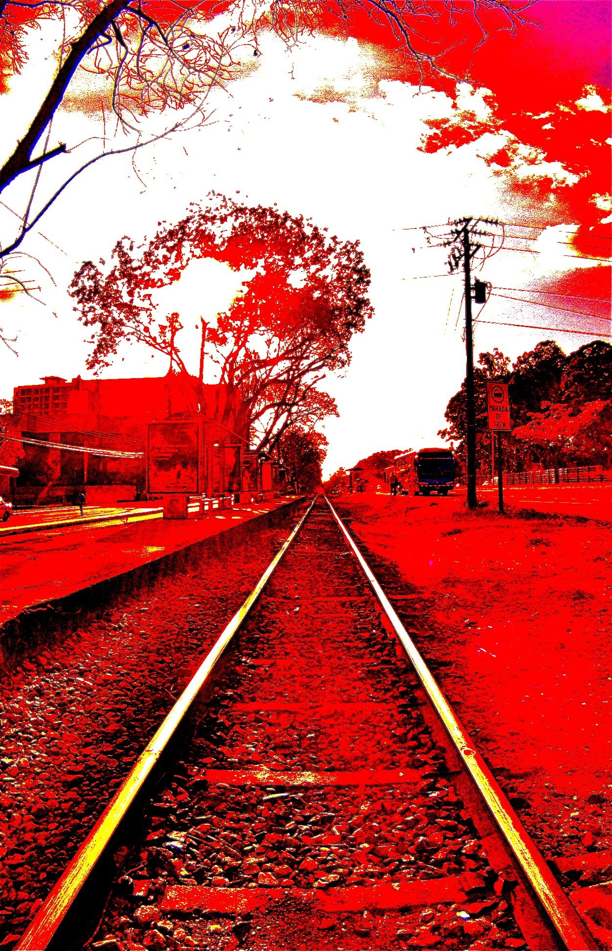 Blood On The Tracks  by Jimmy James Hames