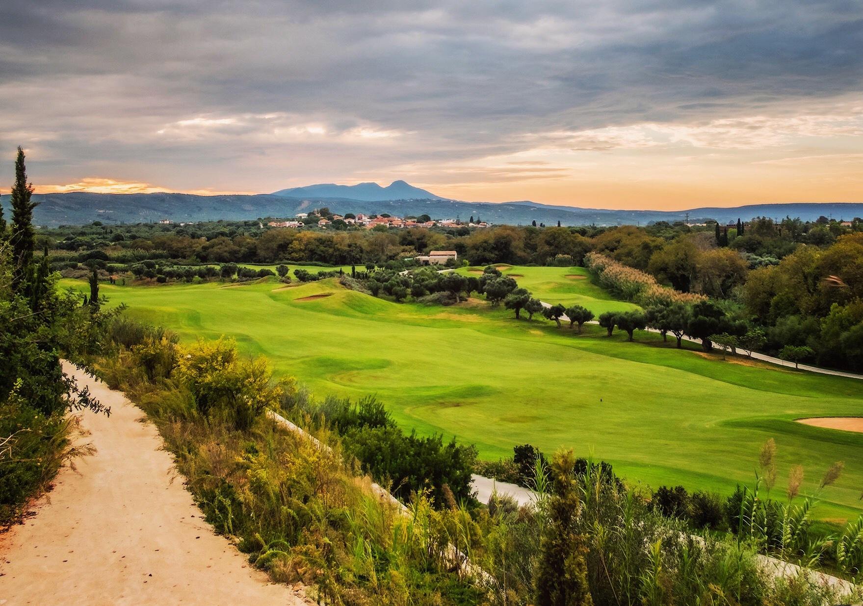 Golf morning by Par Soderman