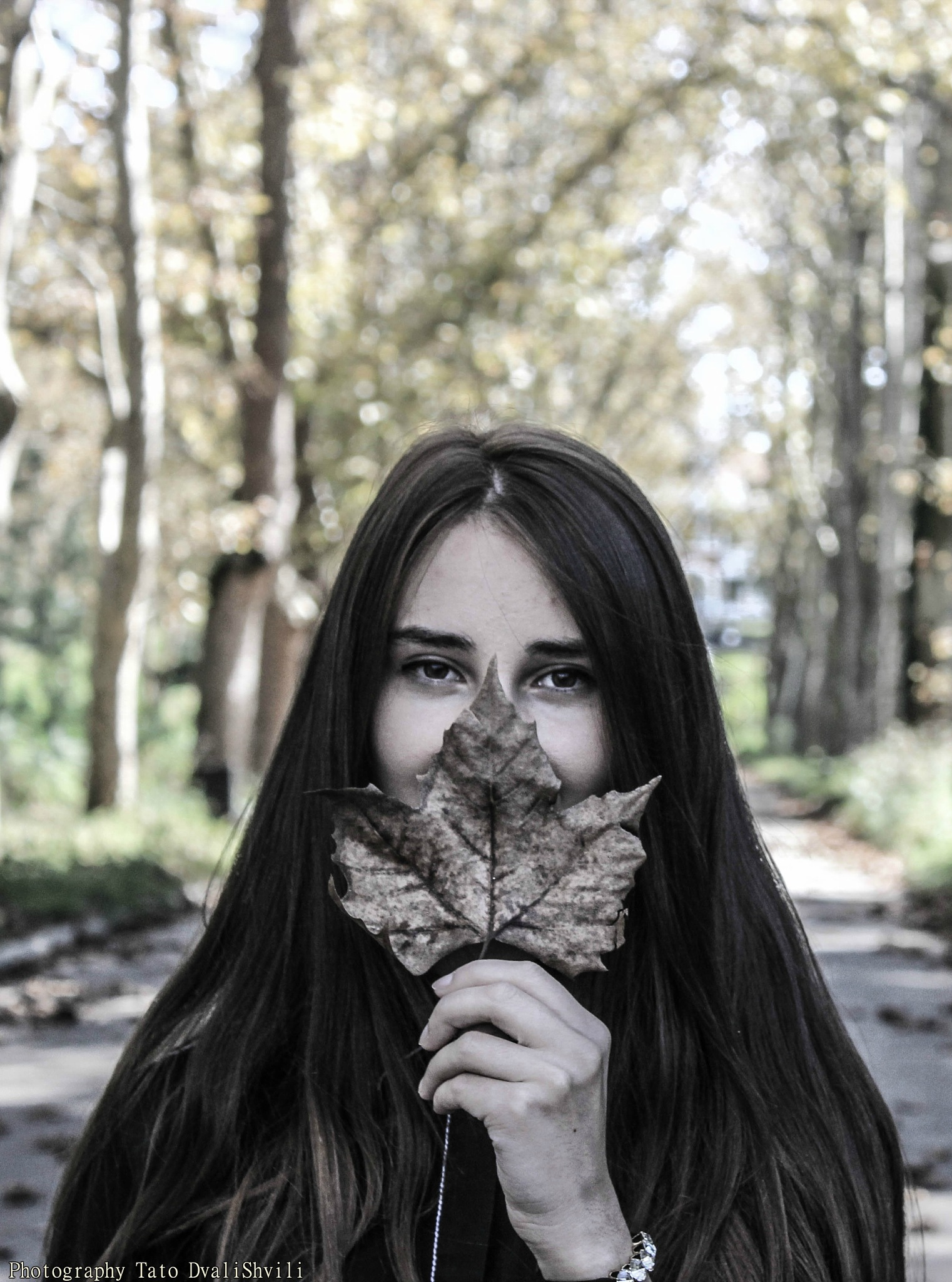 girl by TATO DVALISHVILI
