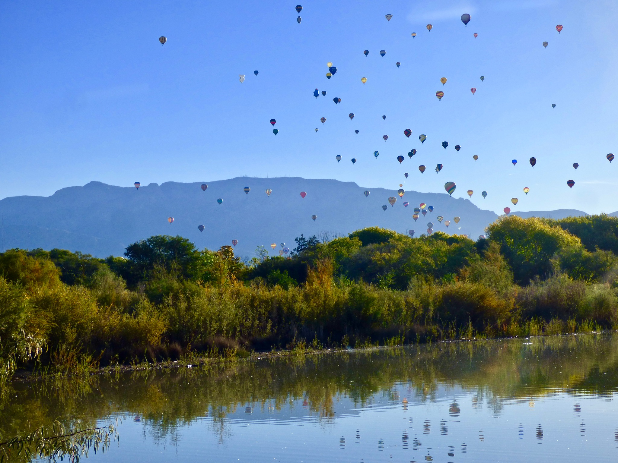 Reflections of Balloons by Hunter Ten Broeck