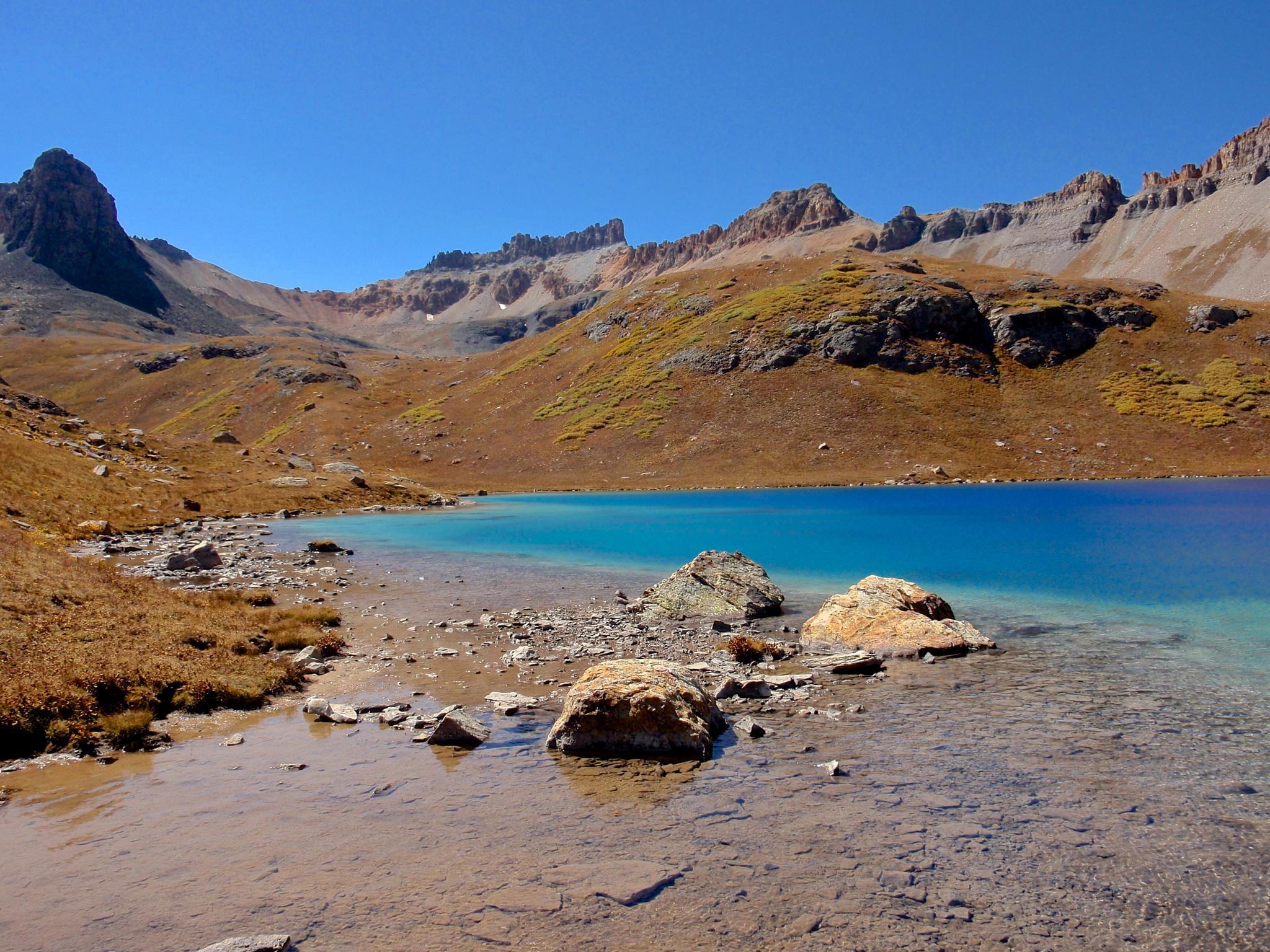 Photo in Landscape #blue water #colorado #ice lake #rocky mountains