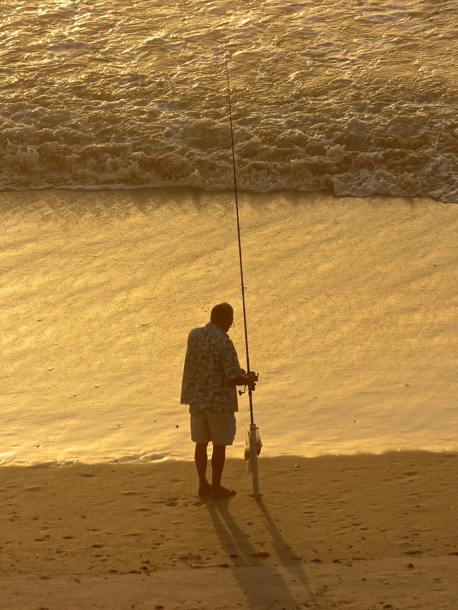 Fisherman by Hunter Ten Broeck