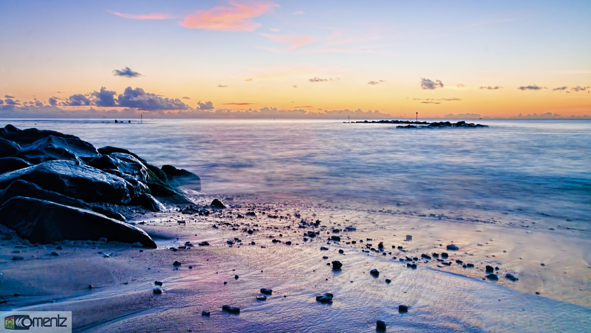 Evening sun sets in Barbados.... by Bajan Fari