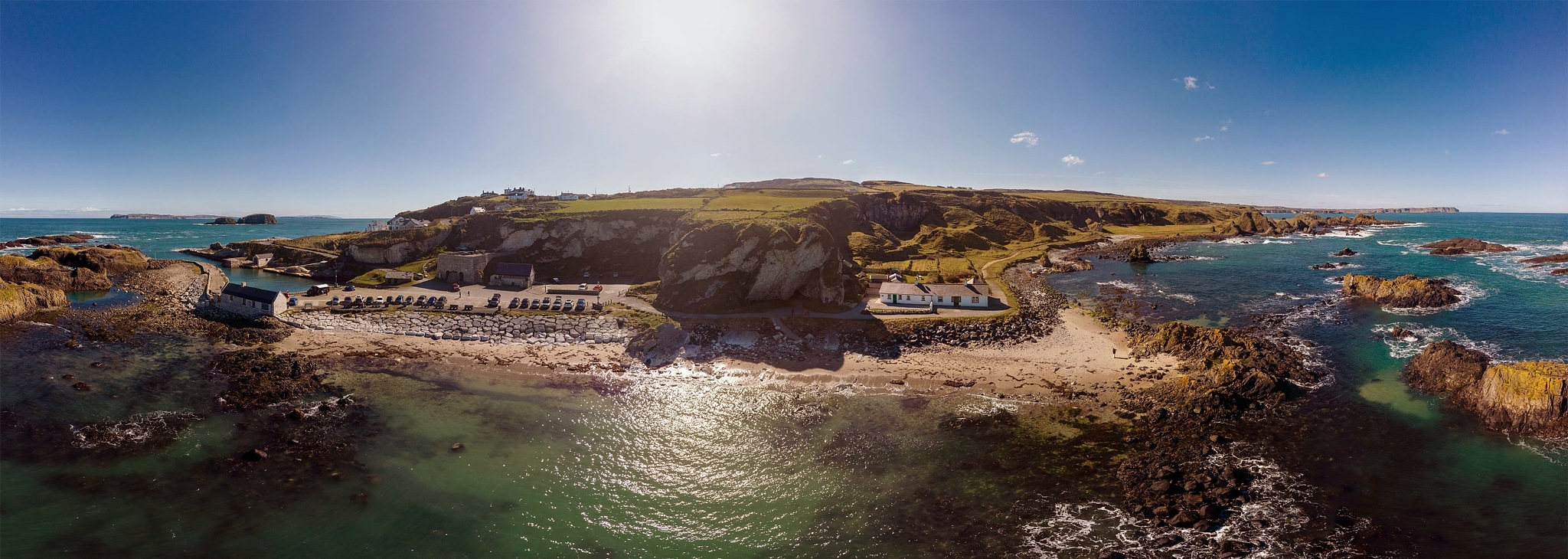 Ballintoy Harbour by Barry Hughes