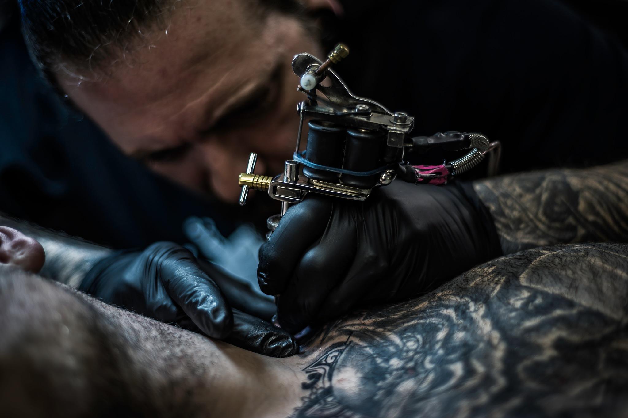Tattooist by MarkGray