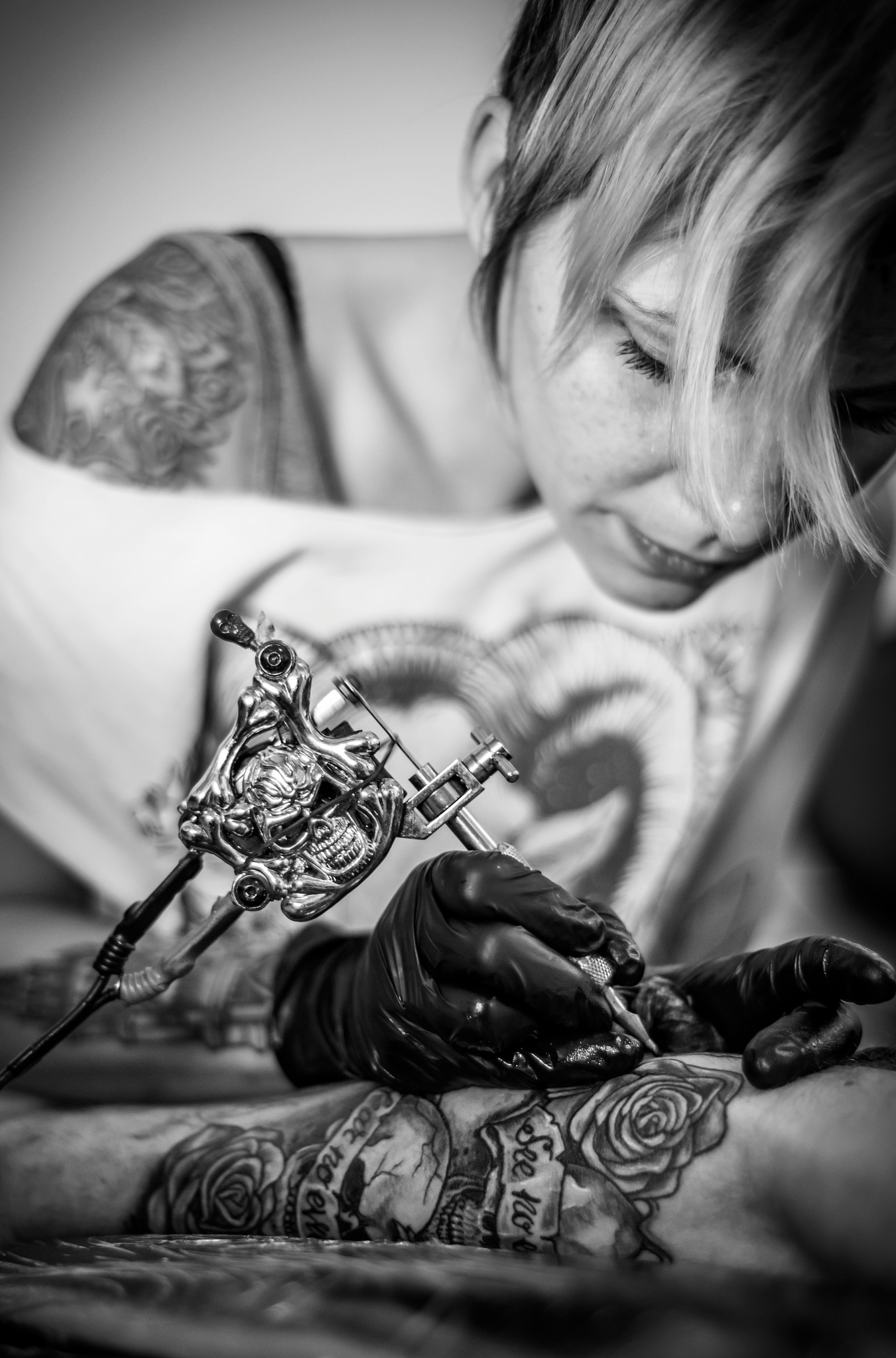 Tattoo artist Fox by MarkGray