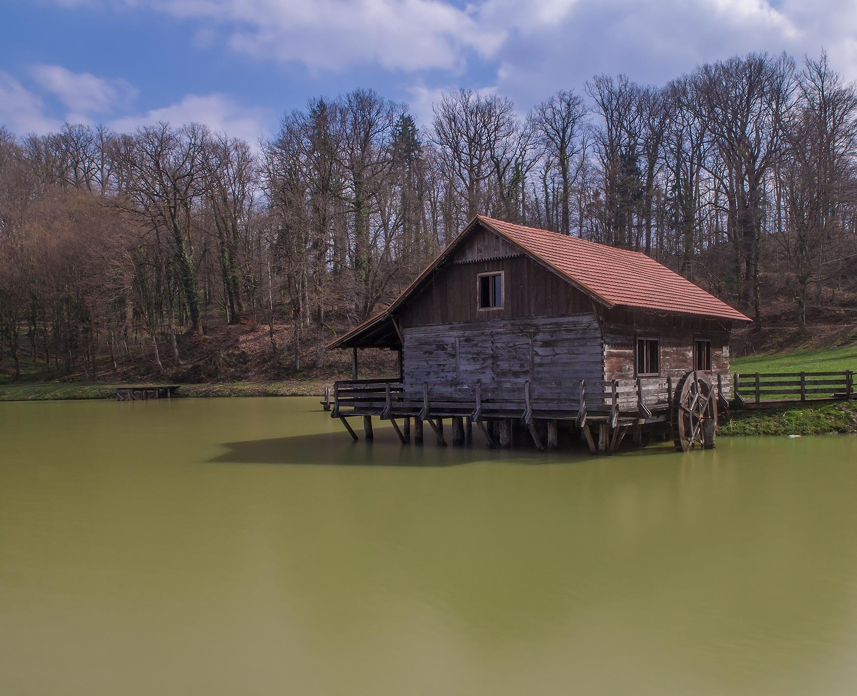 water mill by zoki