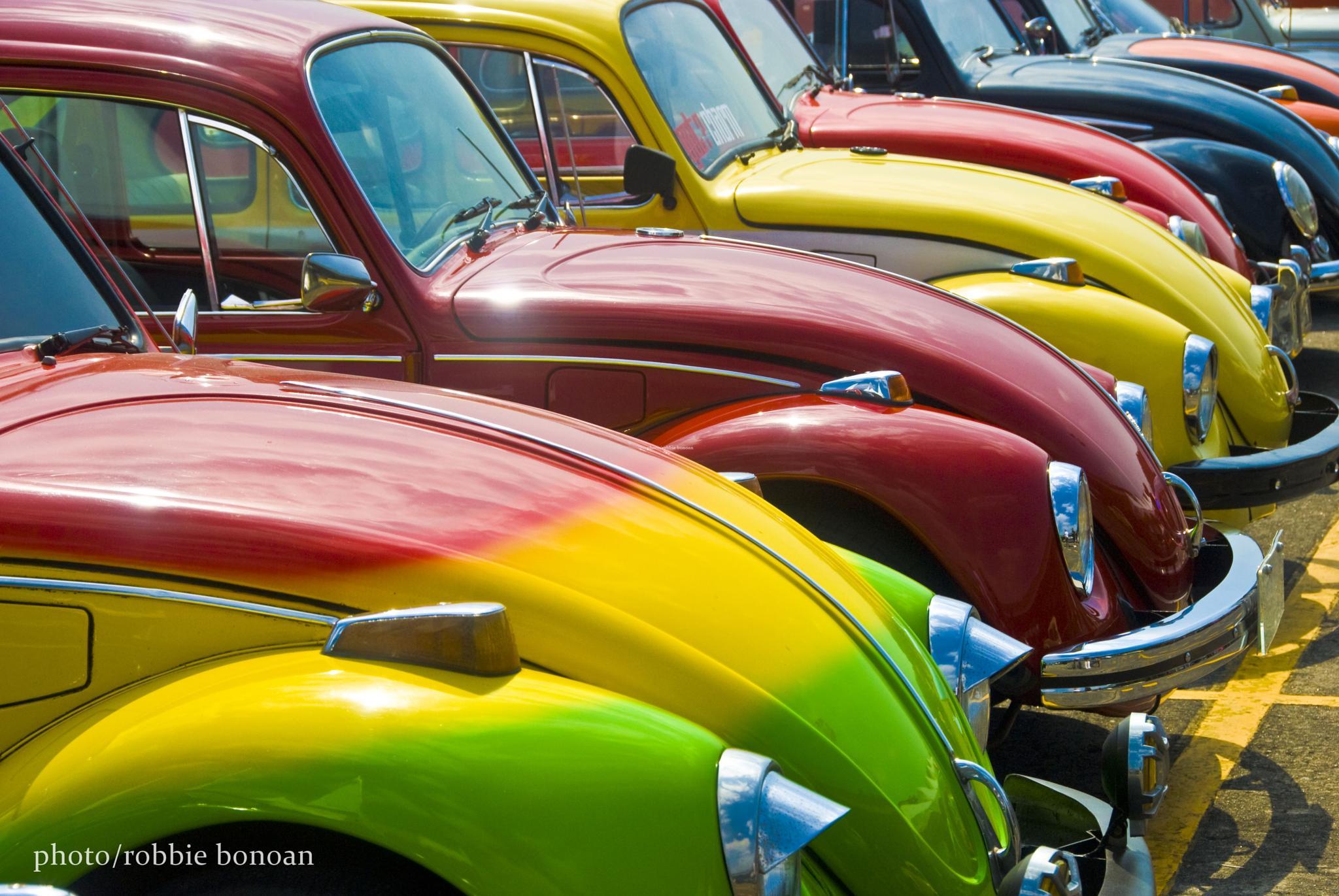 A Burst of VW Color by Robbie Bonoan