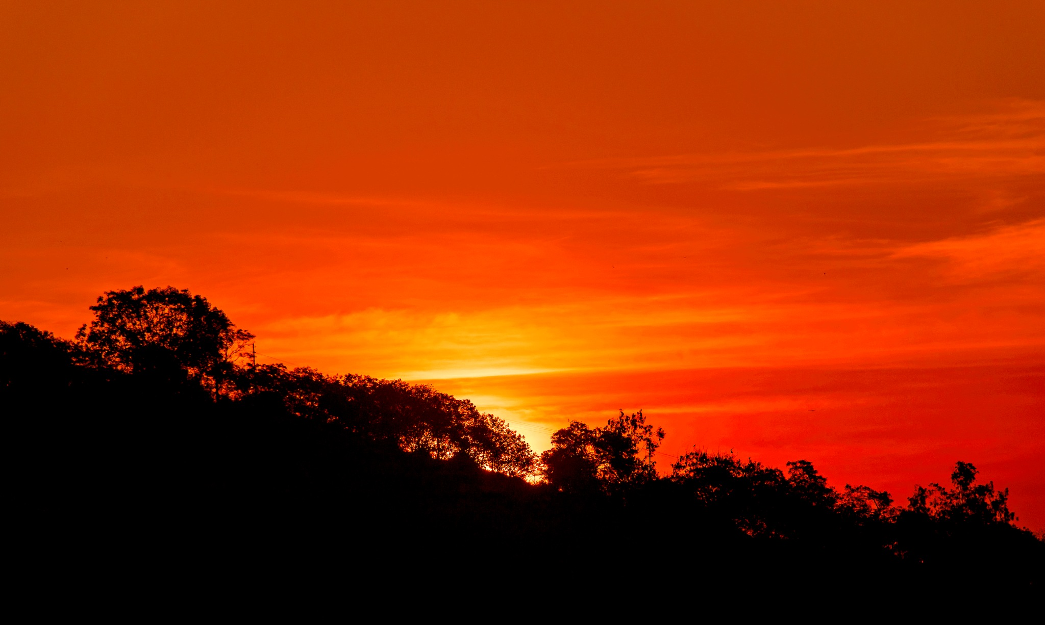 Fire in the sky by DrSudhir Hasamnis