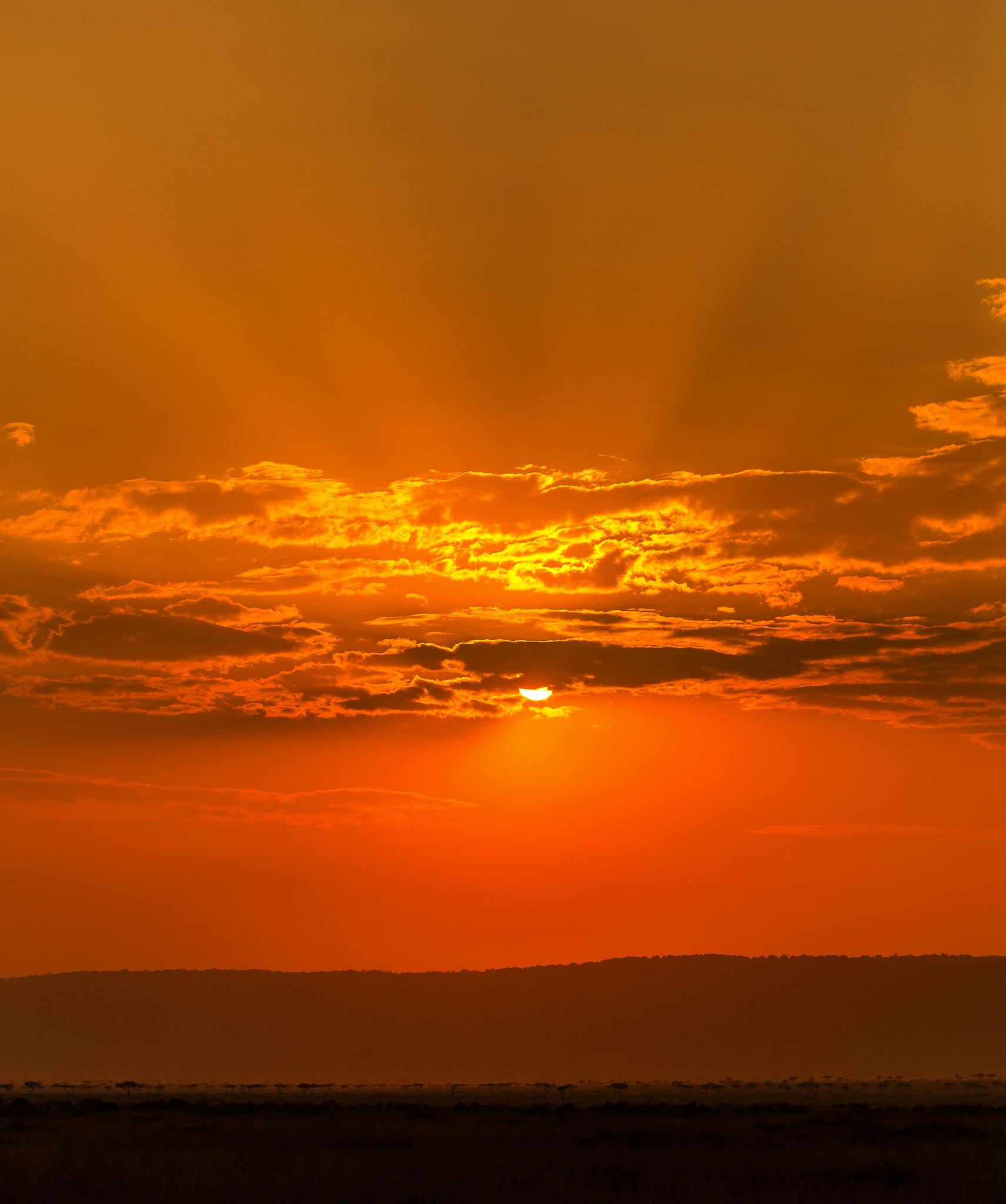 Sunset at Mara by DrSudhir Hasamnis