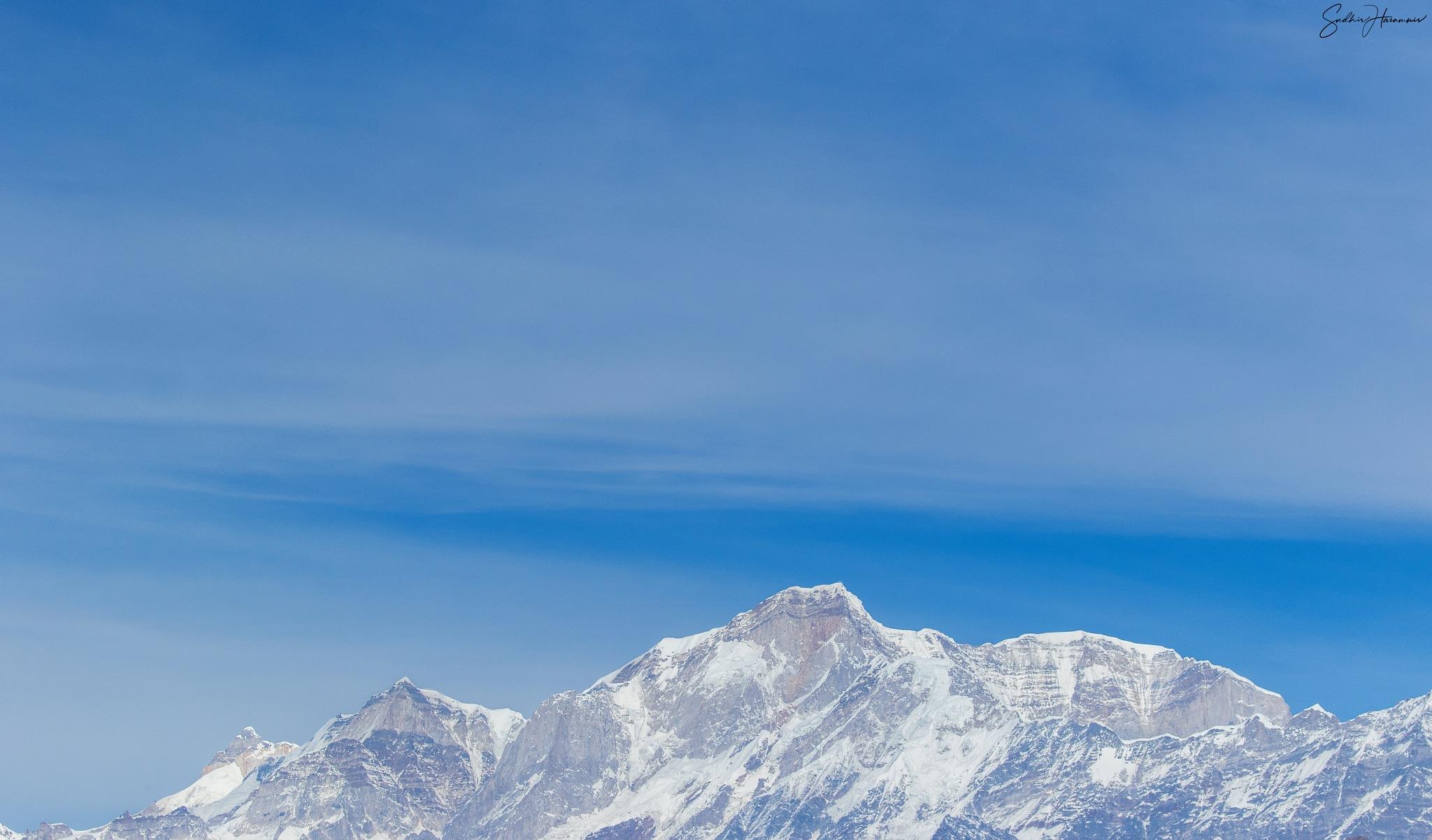Early morning at Himalayas by DrSudhir Hasamnis