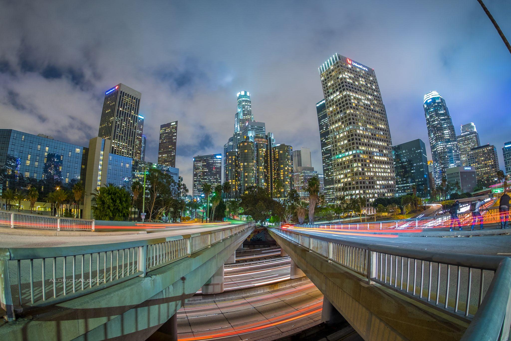 Los Angeles by Aldrich Alonzo