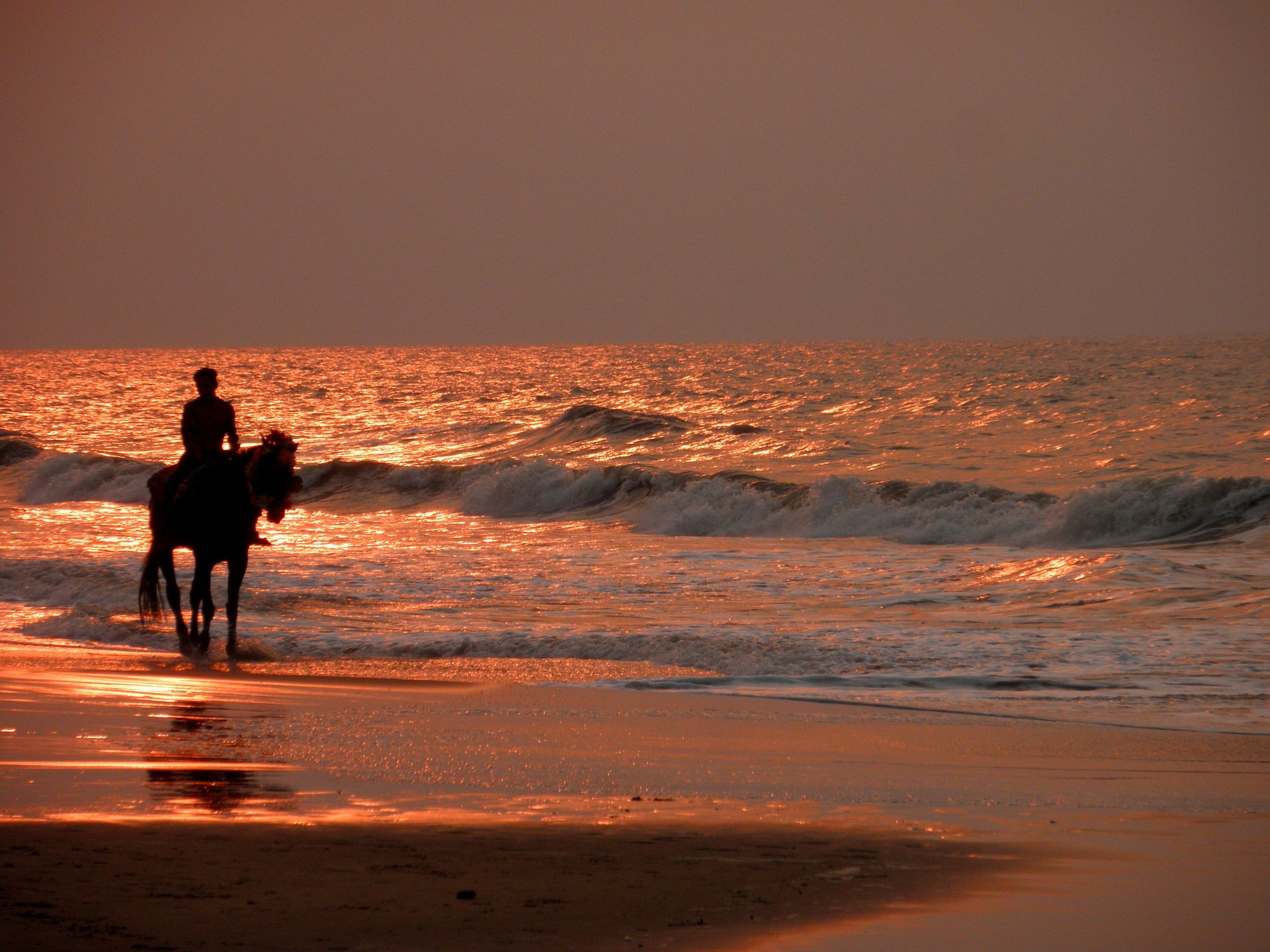 By the golden waves..... by Gautam Tarafder