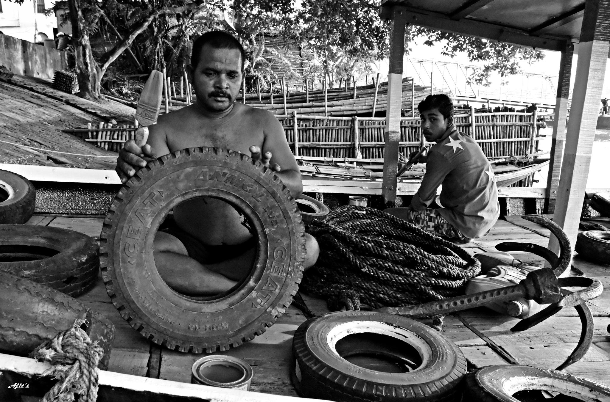 DAILY LIFE by Ajit Kumar Majhi