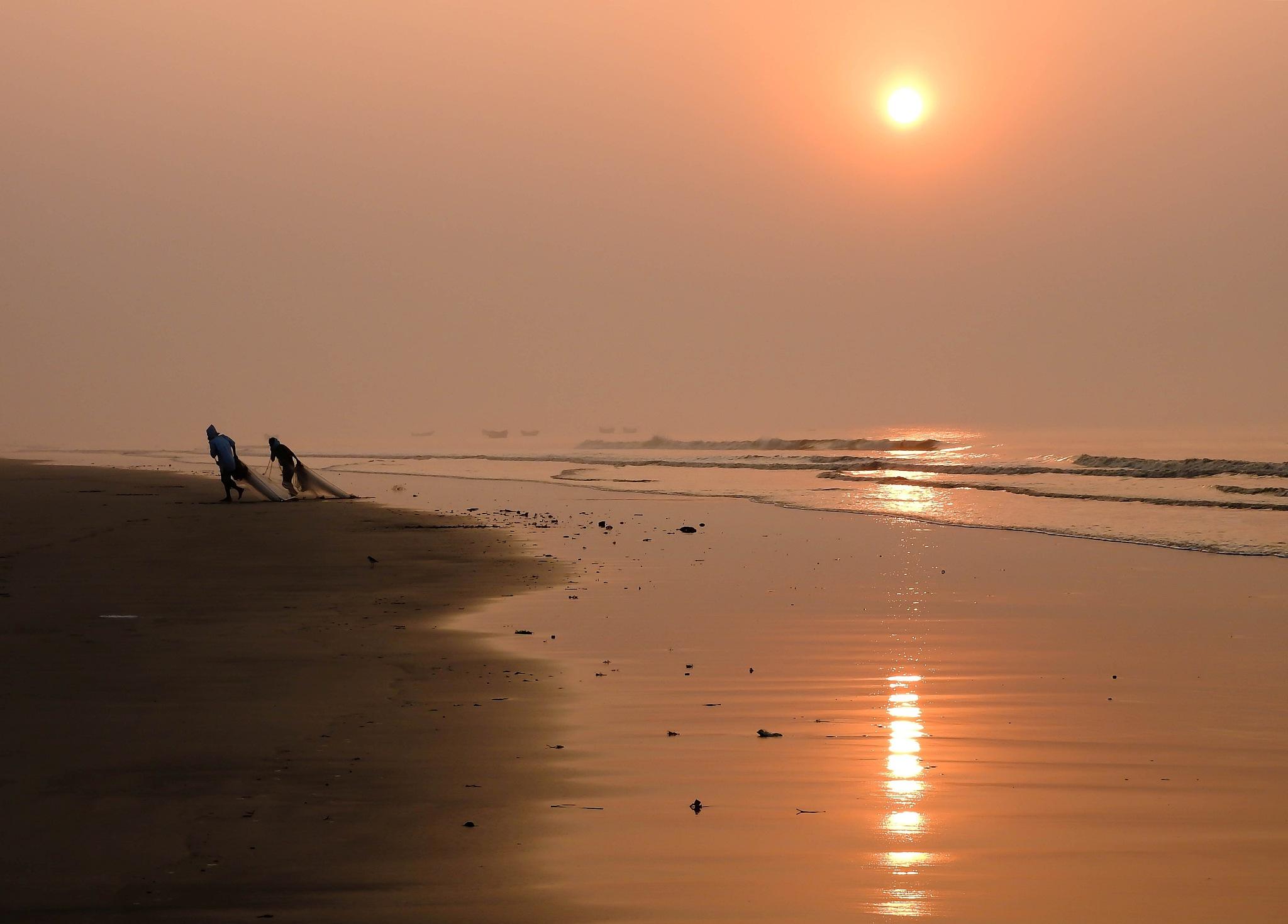 Fishing by Ajit Kumar Majhi