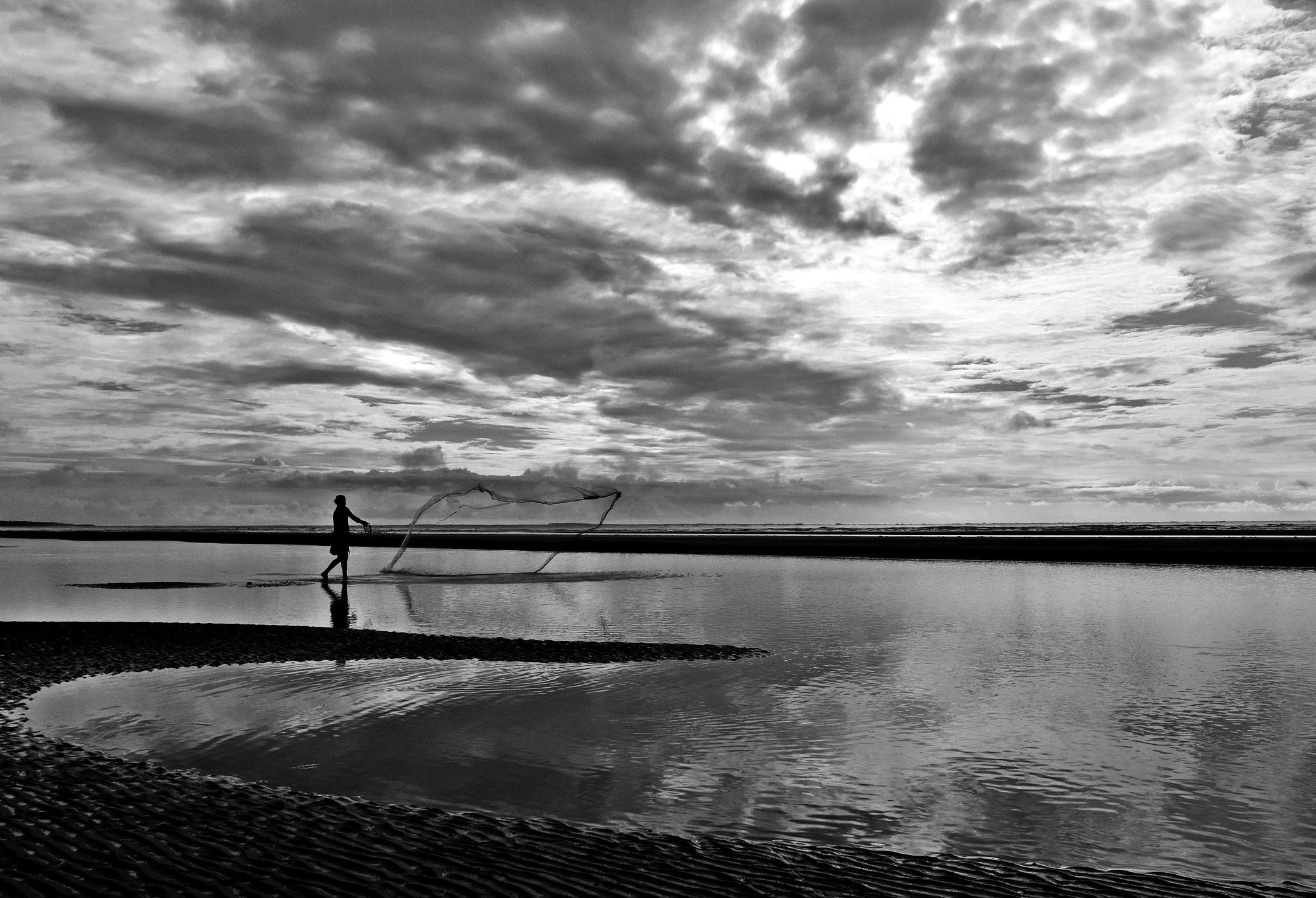 FISHING.. by Ajit Kumar Majhi
