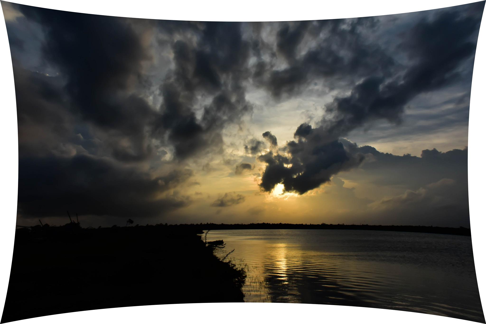 Monsoon Clouds.. by Ajit Kumar Majhi
