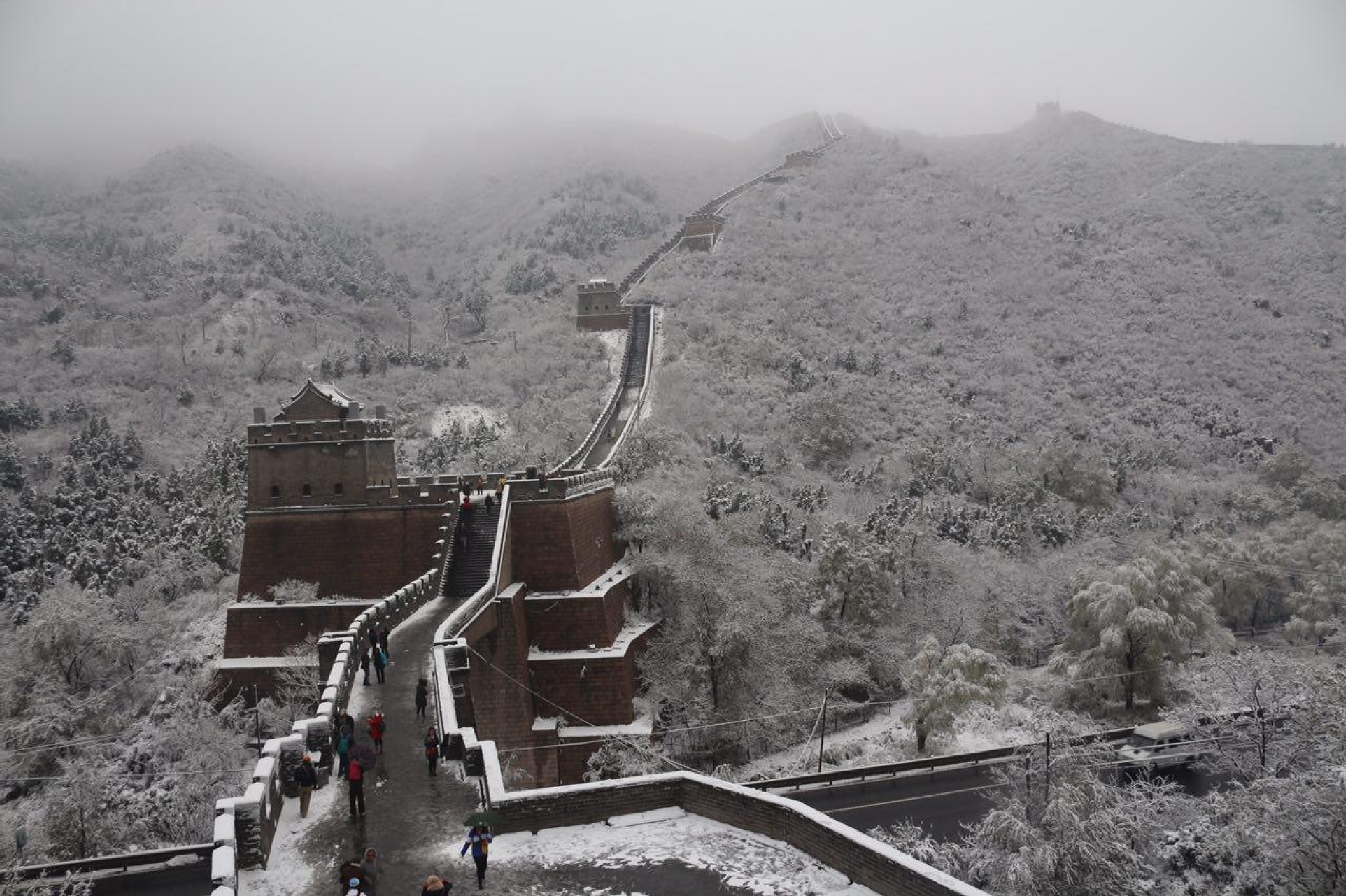 Great Wall of China by saeid parchini