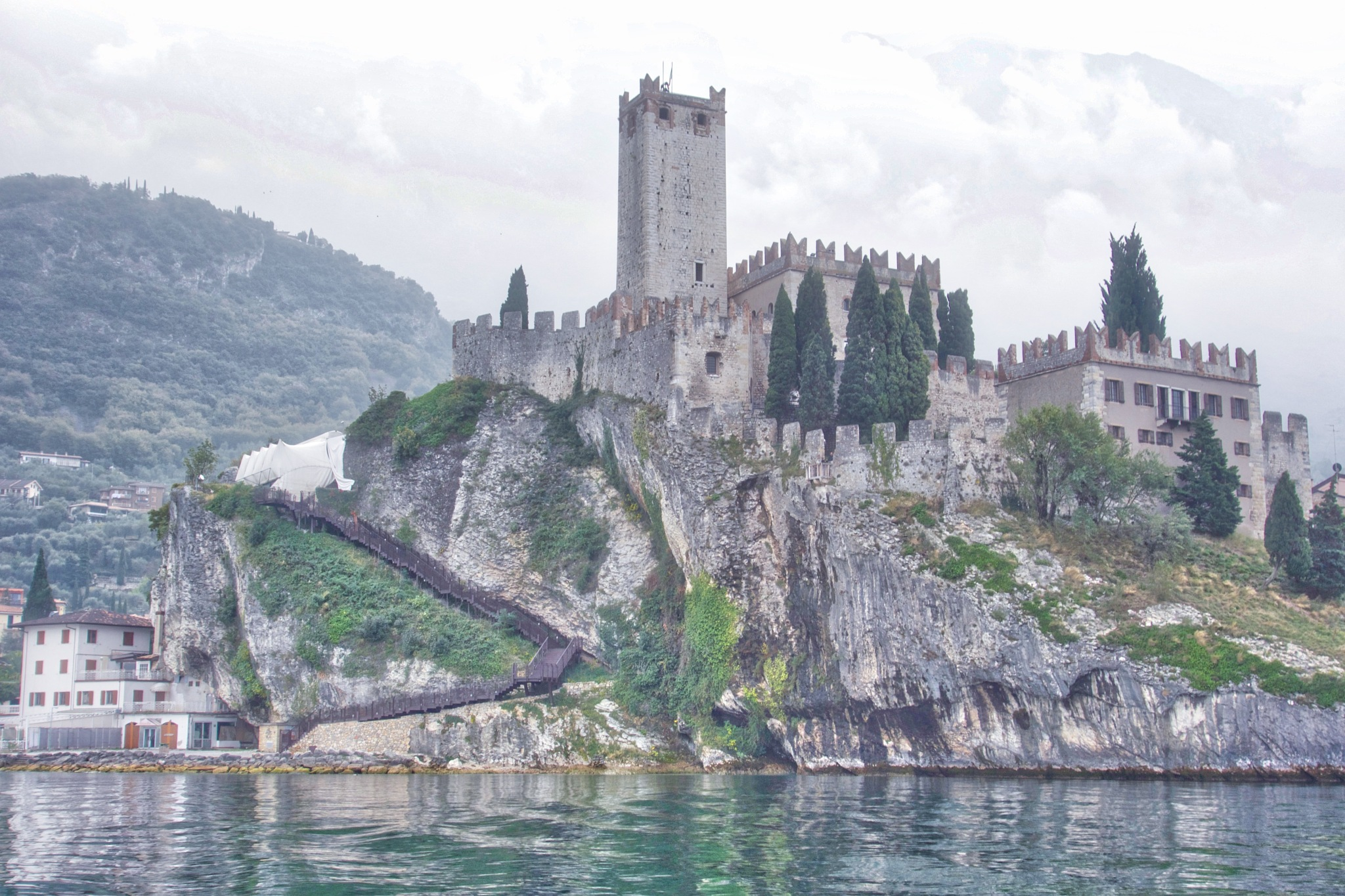 Castello Scaligero by Paul Anthony Taylor