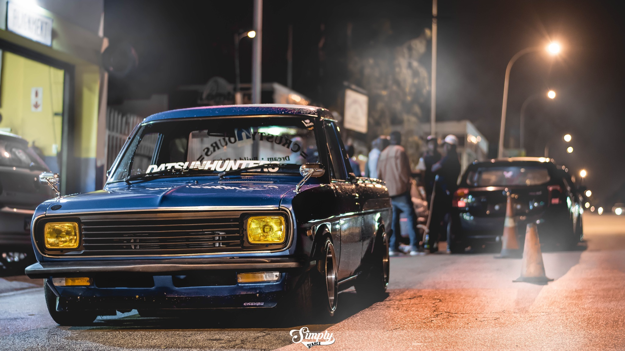 Night cruiser by Jaco Venter