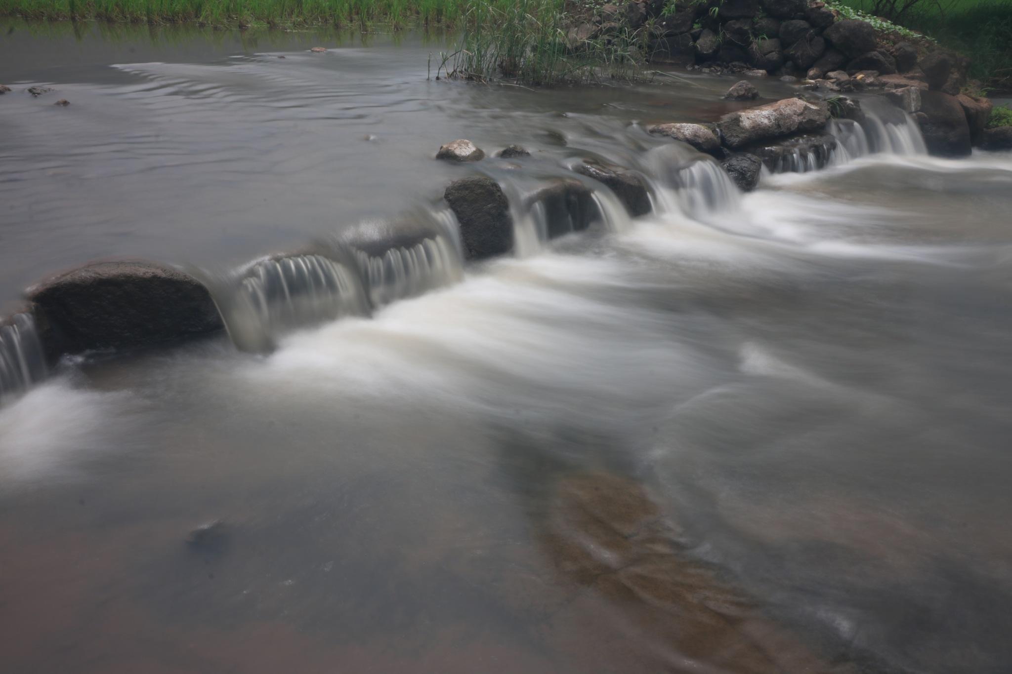 Soothing Falls by Surekha Pillai