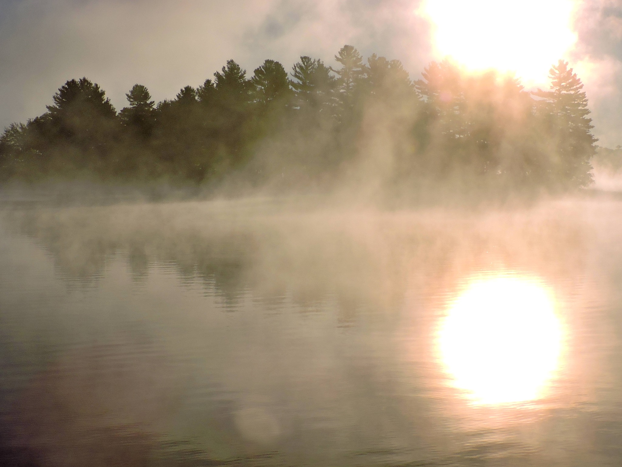 Sunrise in the mist by G. A. McComas