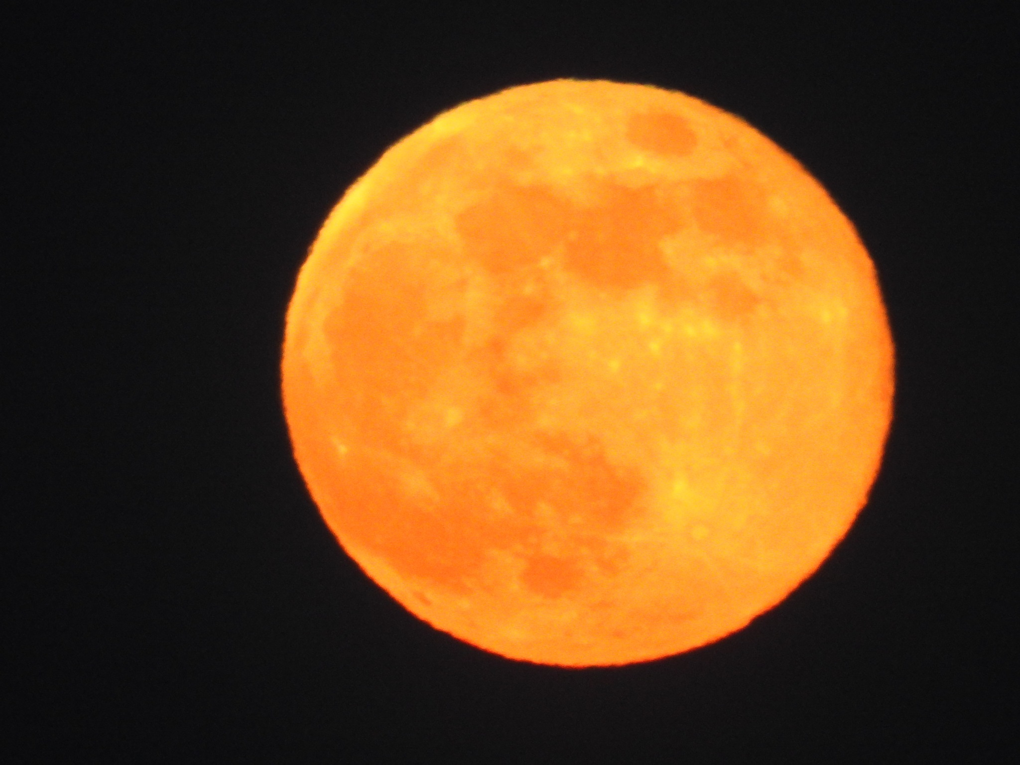 Dinner time moon #2 CT by G. A. McComas