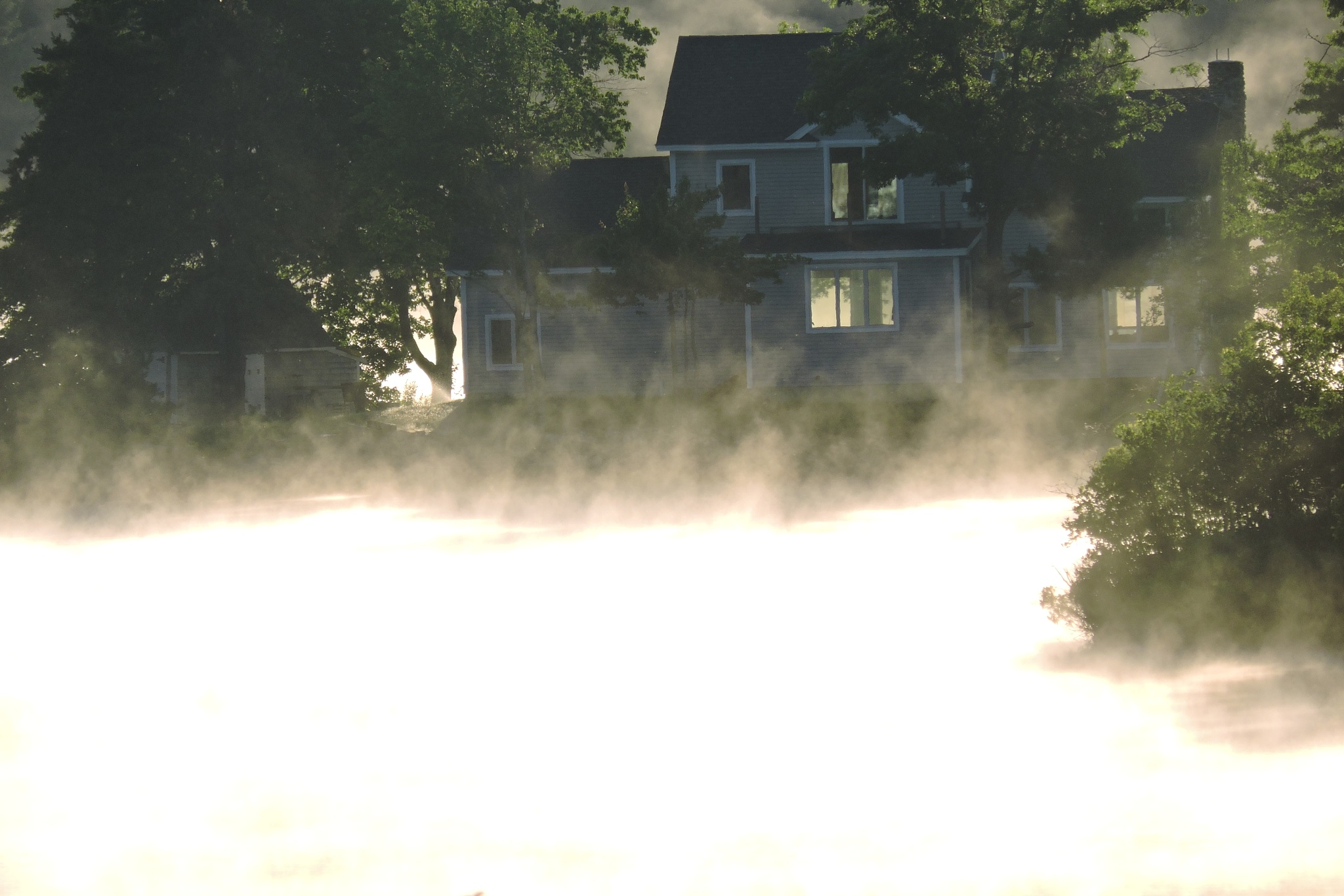 morning mist by G. A. McComas