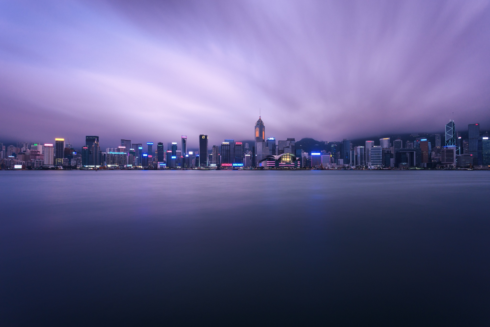 Victoria Harbour HongKong by Chelian