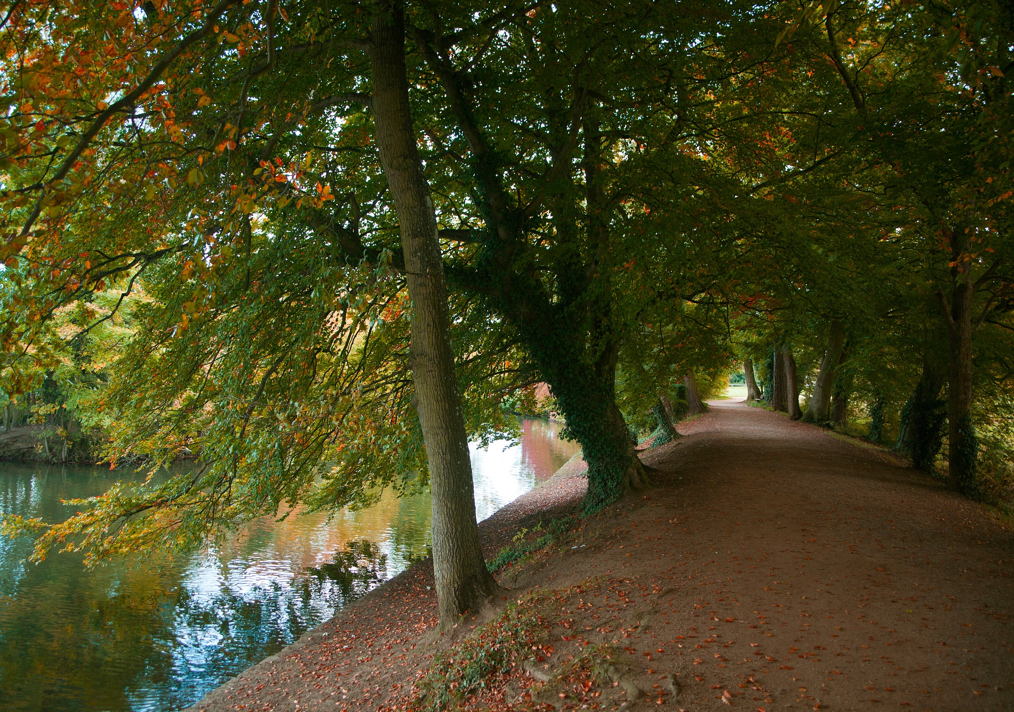 Autumn Coate Water by MichaelaG95
