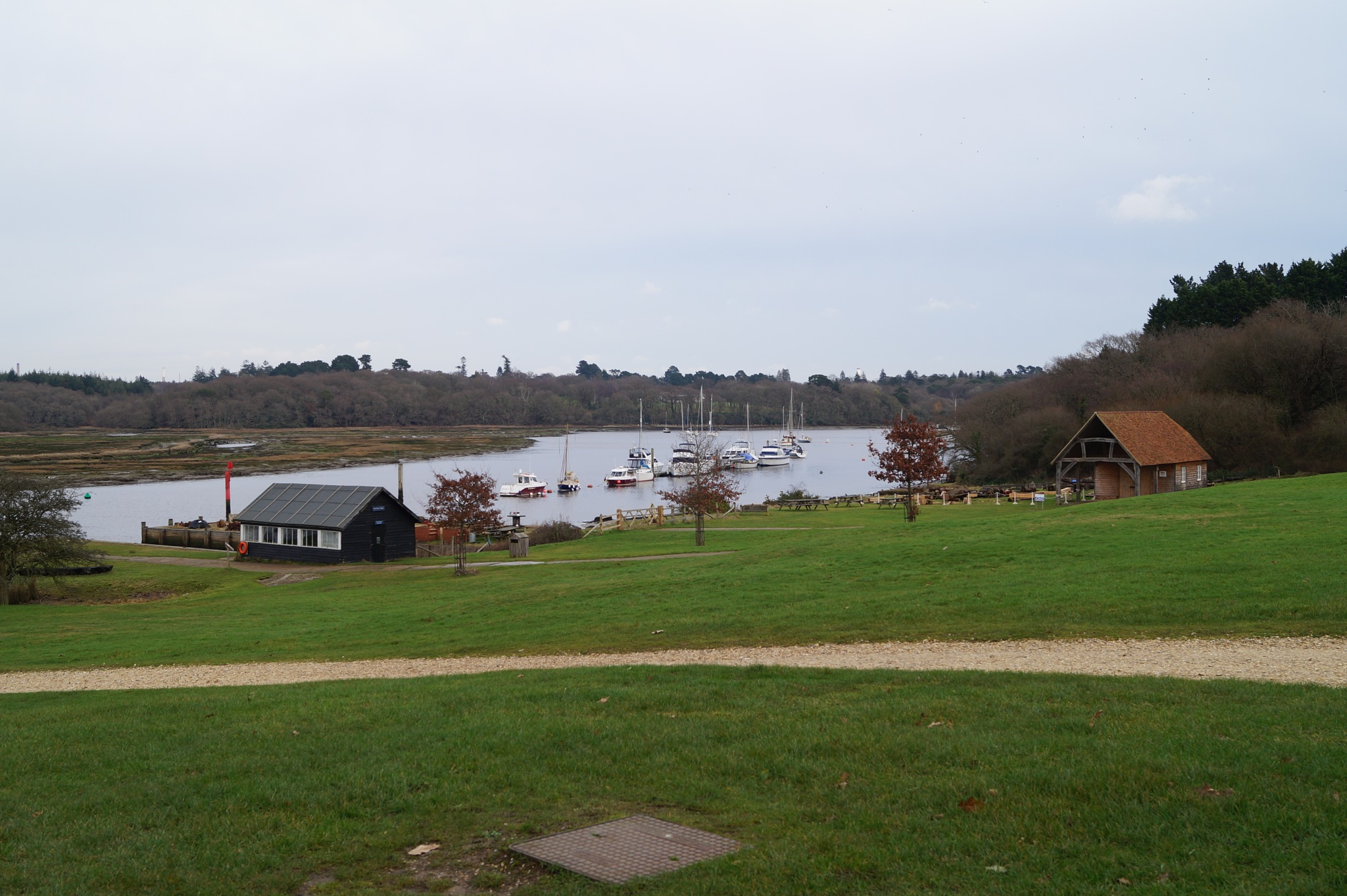 BUCKLERS HARD BEAULIEU RIVER by shotters