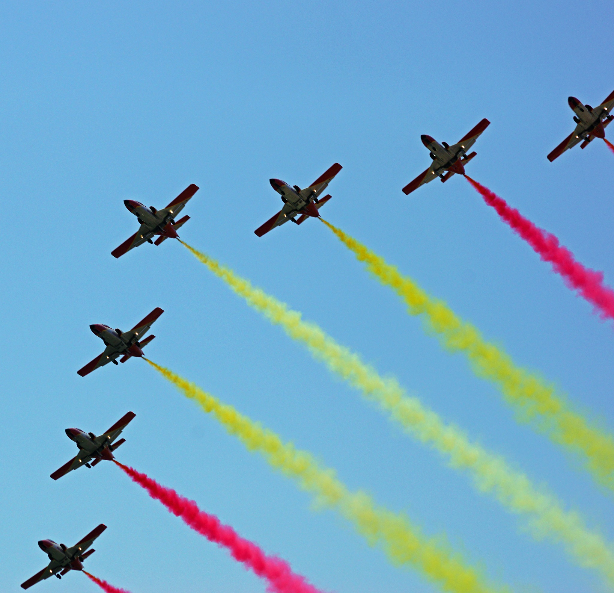 FLAG FORMATION by shotters