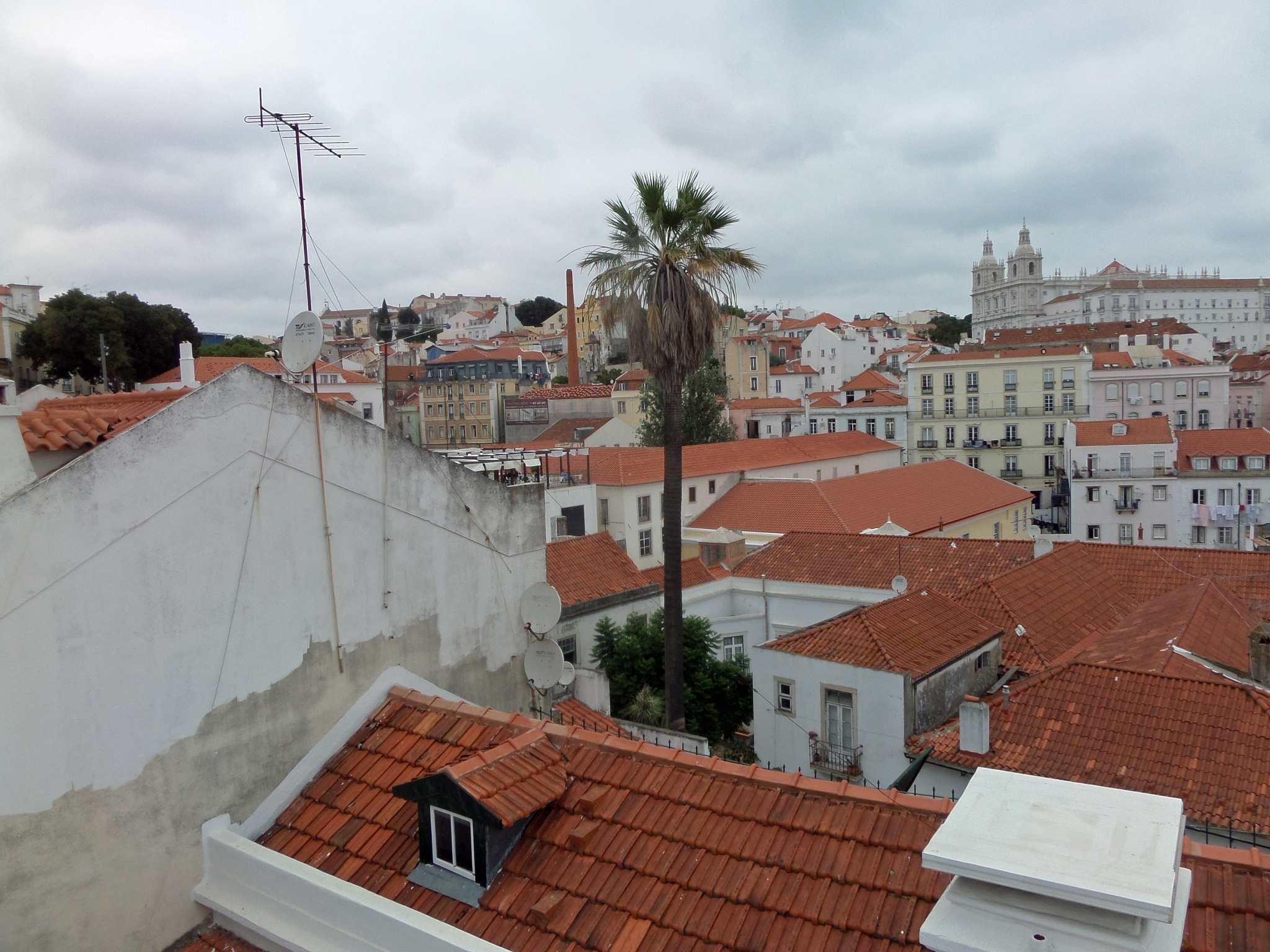 Red Roofs under Cloud  by shotters