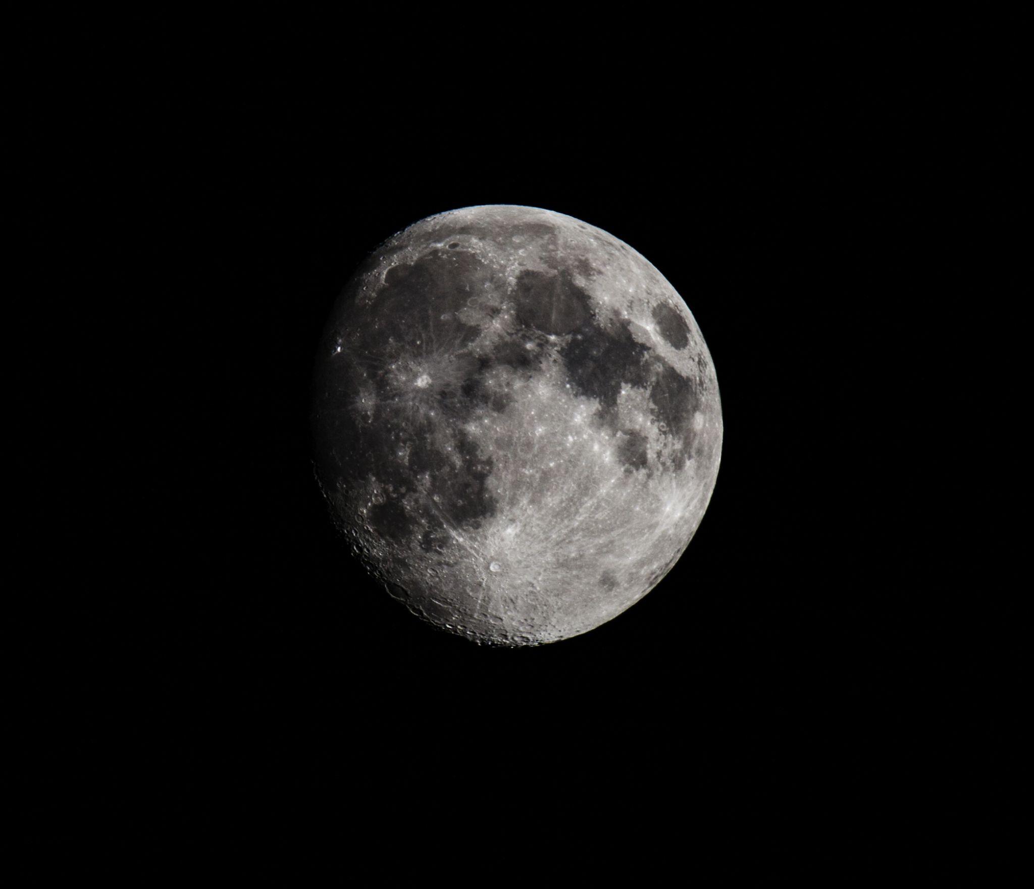 Tonights moon by Michael Clayton