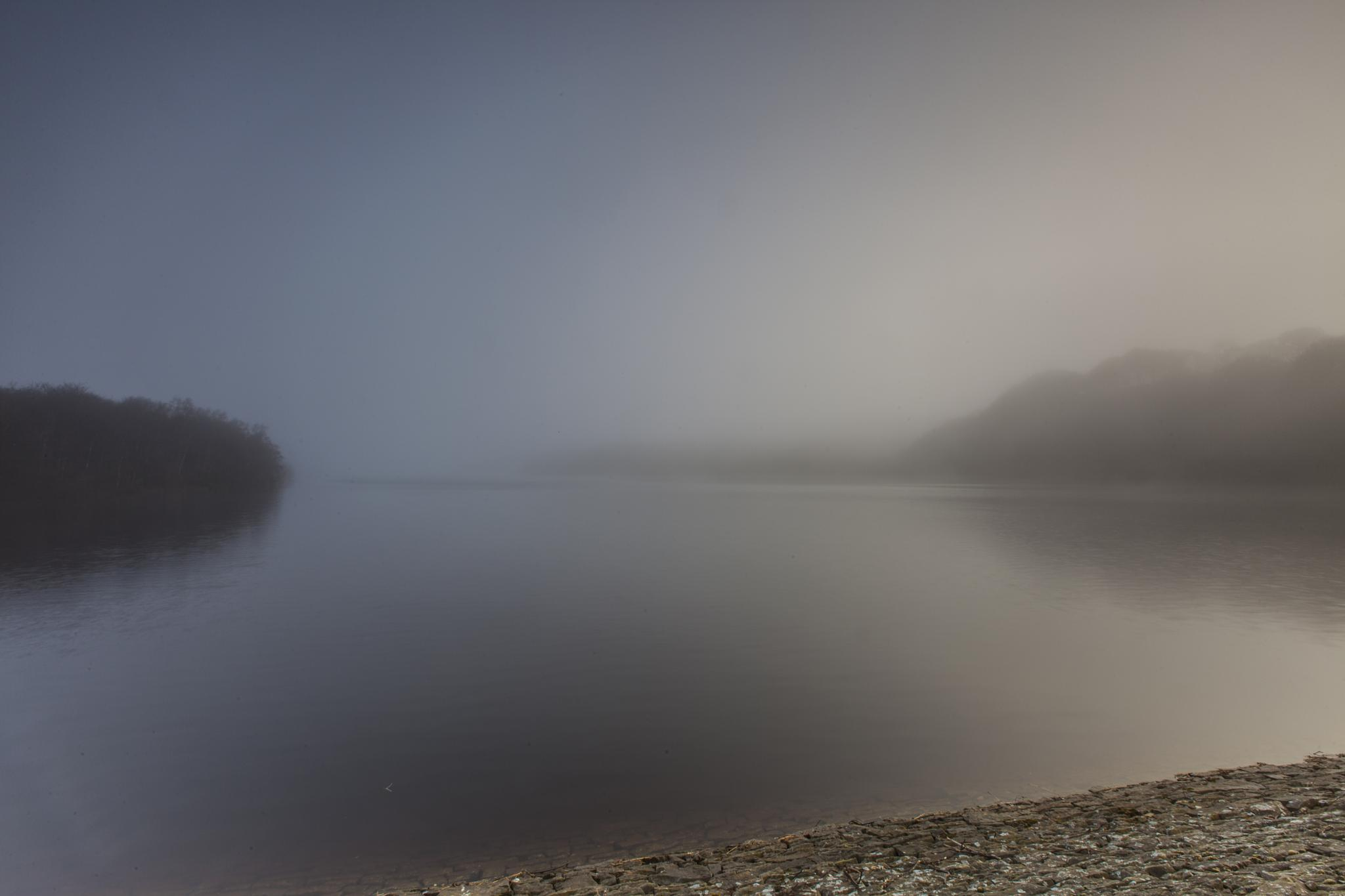 Sun rise over Anglezarke by Michael Clayton