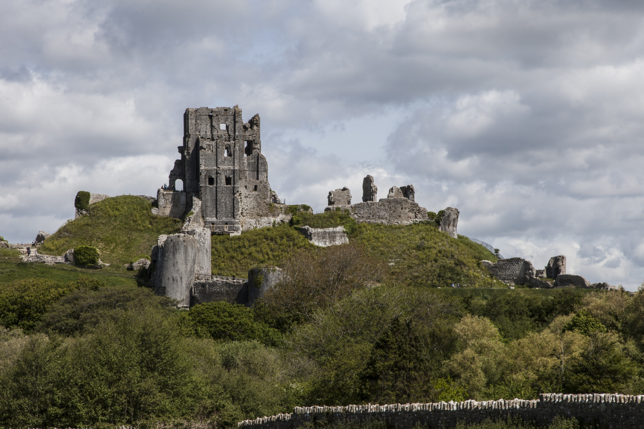 Corfe Castle by Michael Clayton
