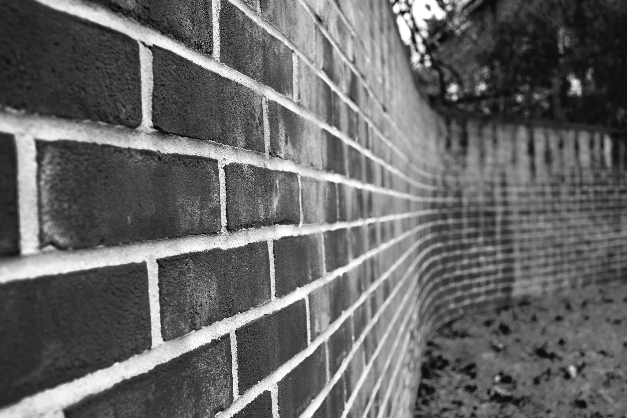 Bent bricks. by Simon Ciappara LRPS