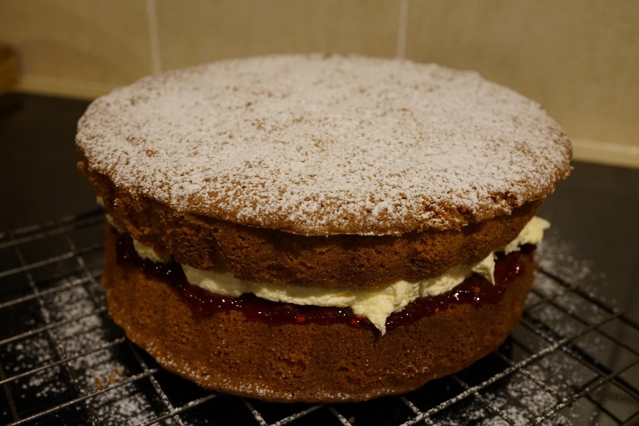 Home Baked Cake! by Simon Ciappara