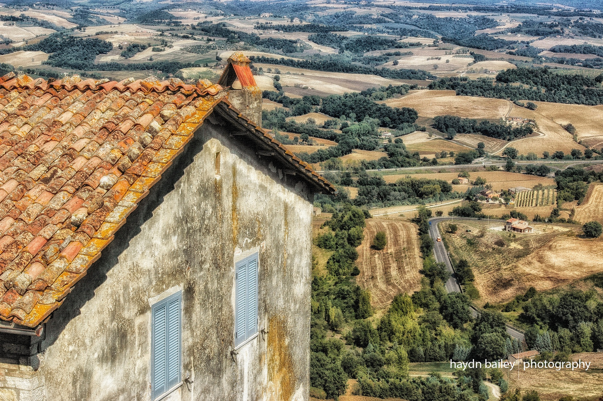 Tuscan Landscape by Haydn Bailey