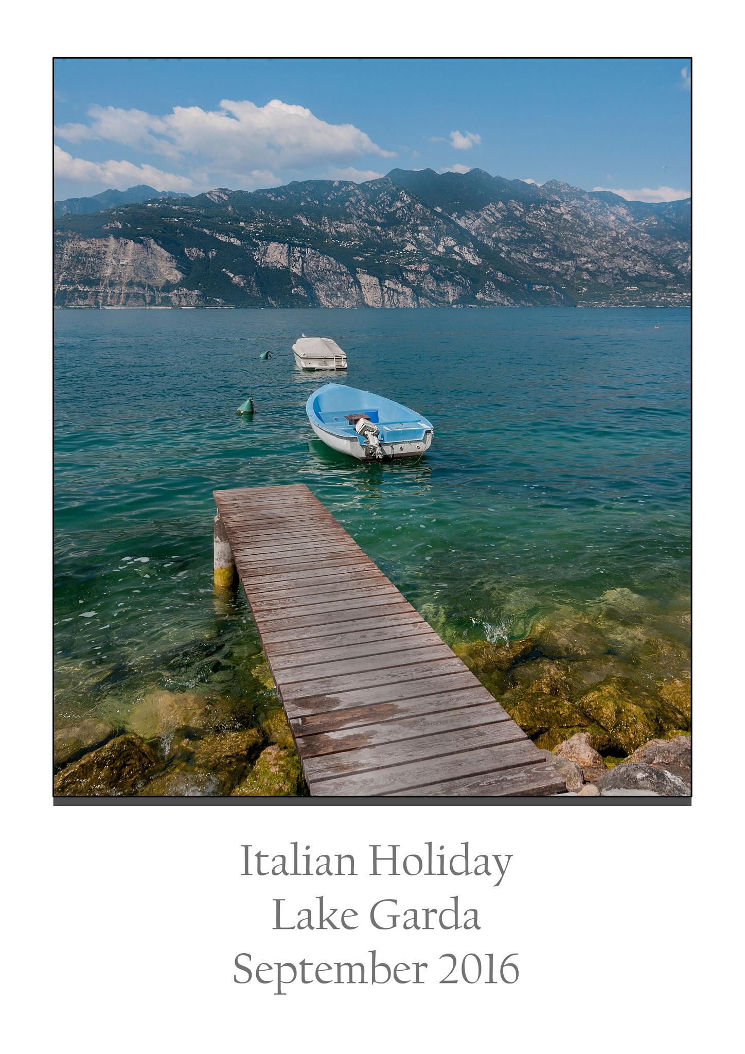 Lake Garda Jetty by Haydn Bailey