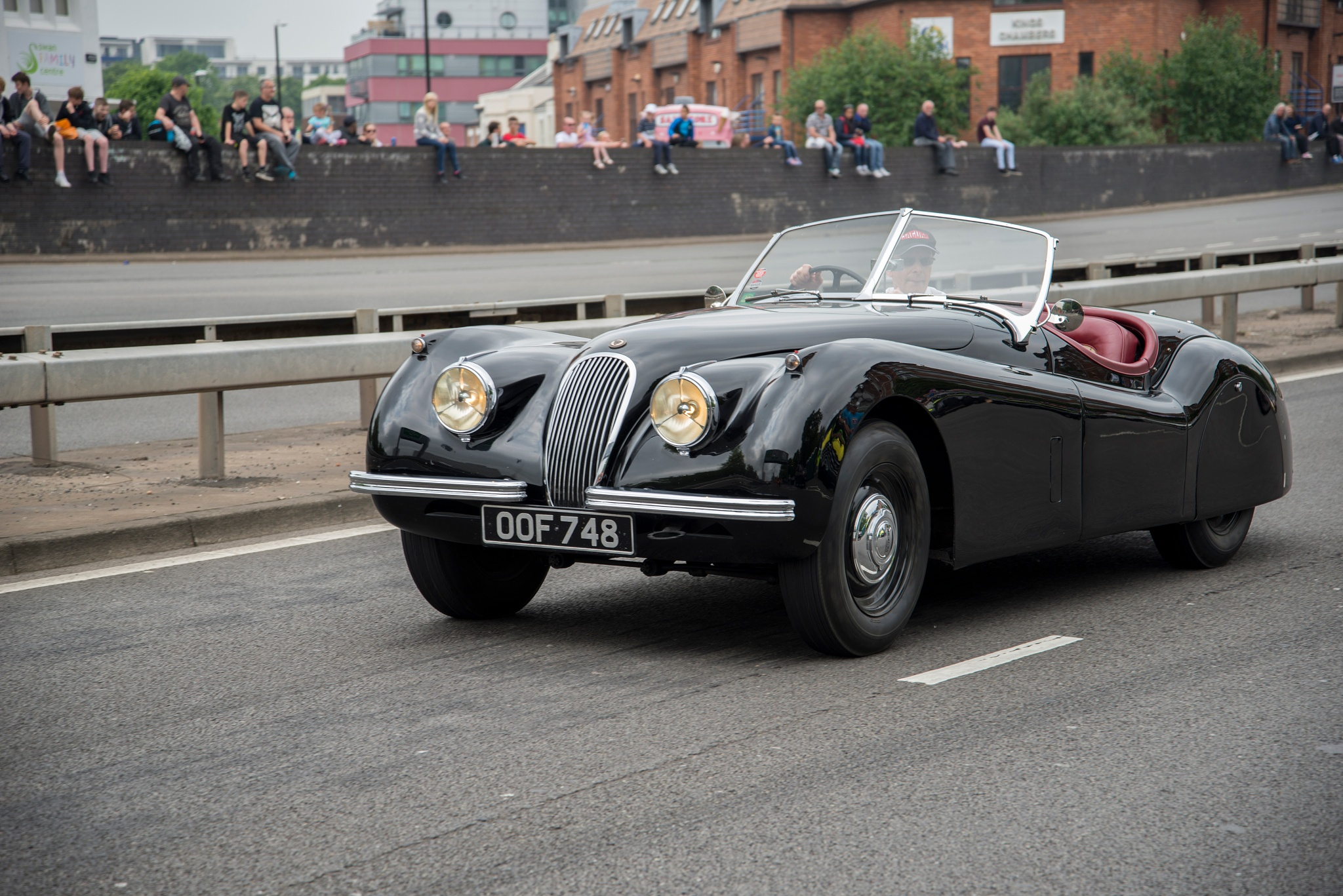 Classic Jaguar on the move! by Haydn Bailey