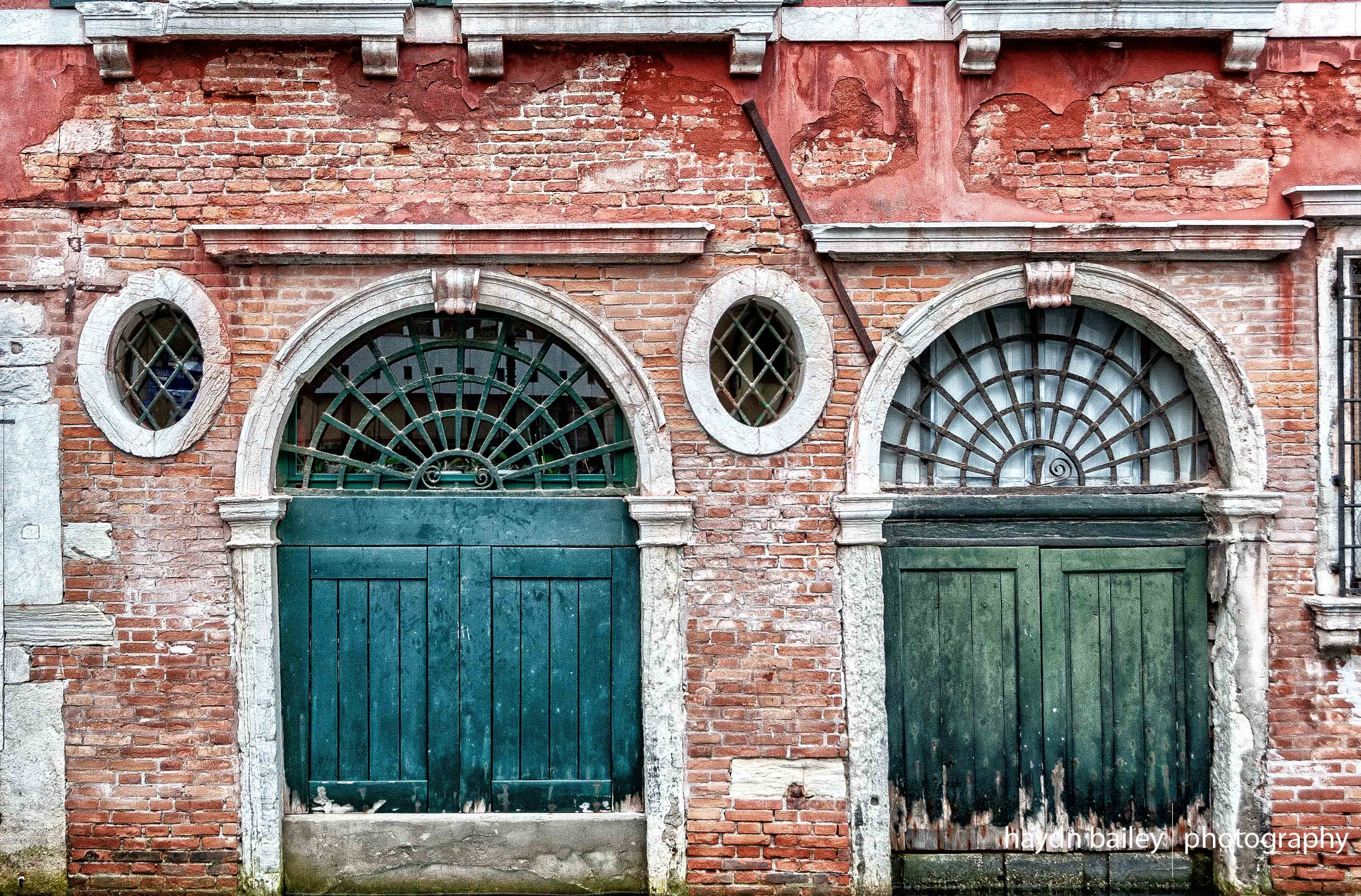 Canal-side doors by Haydn Bailey