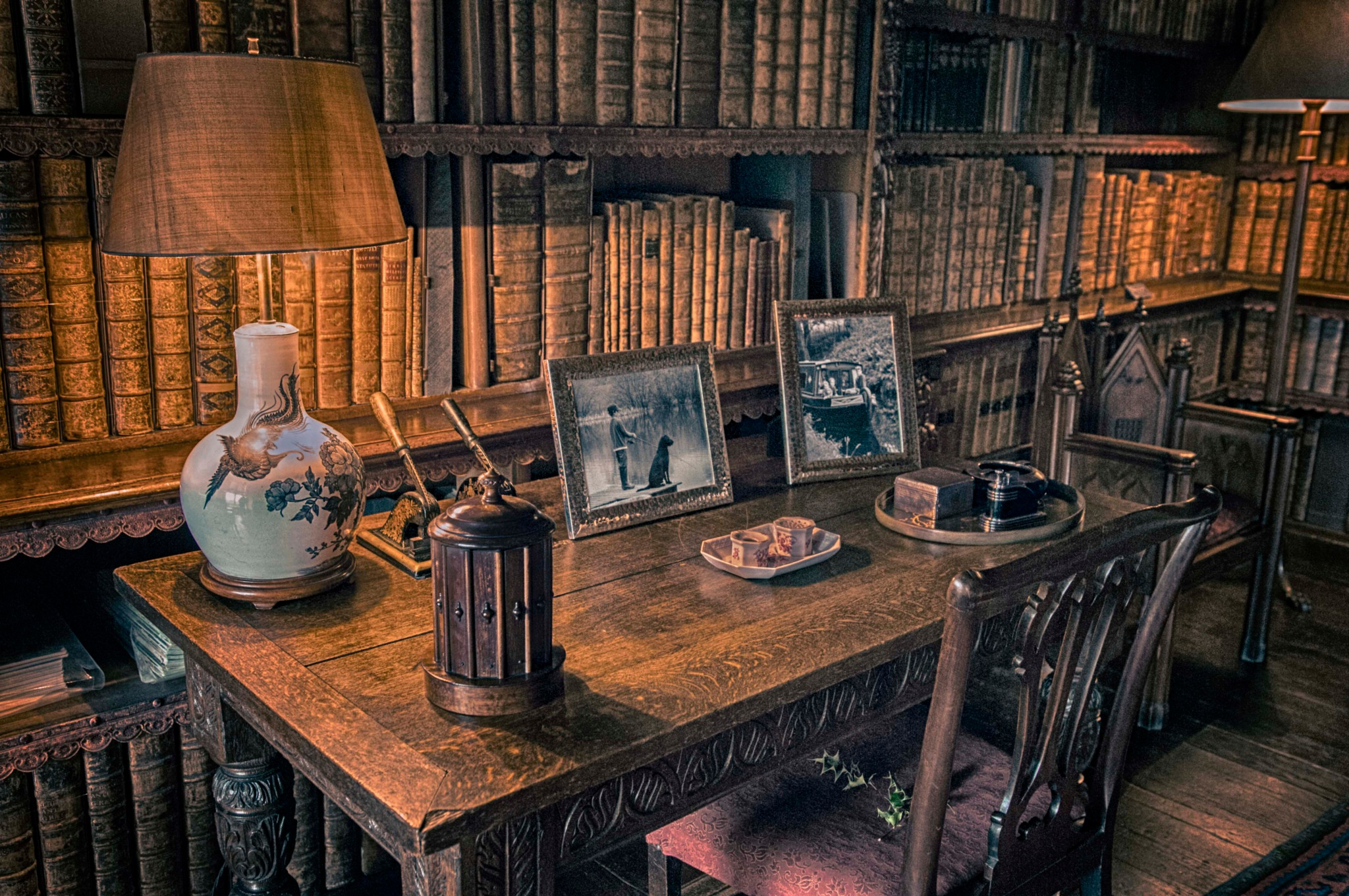 The table in the library by Haydn Bailey
