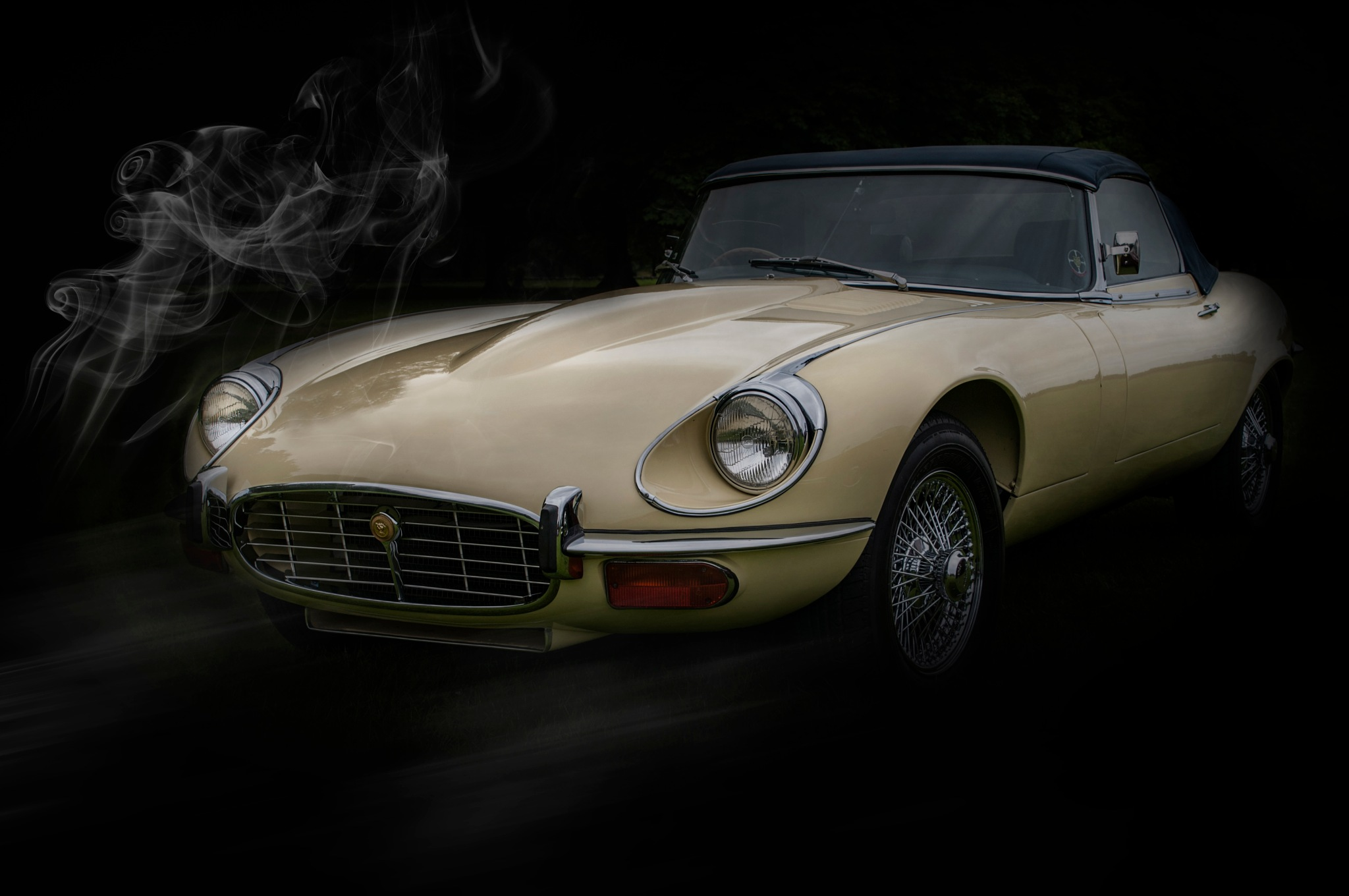 Classic Jaguar #1 by Haydn Bailey