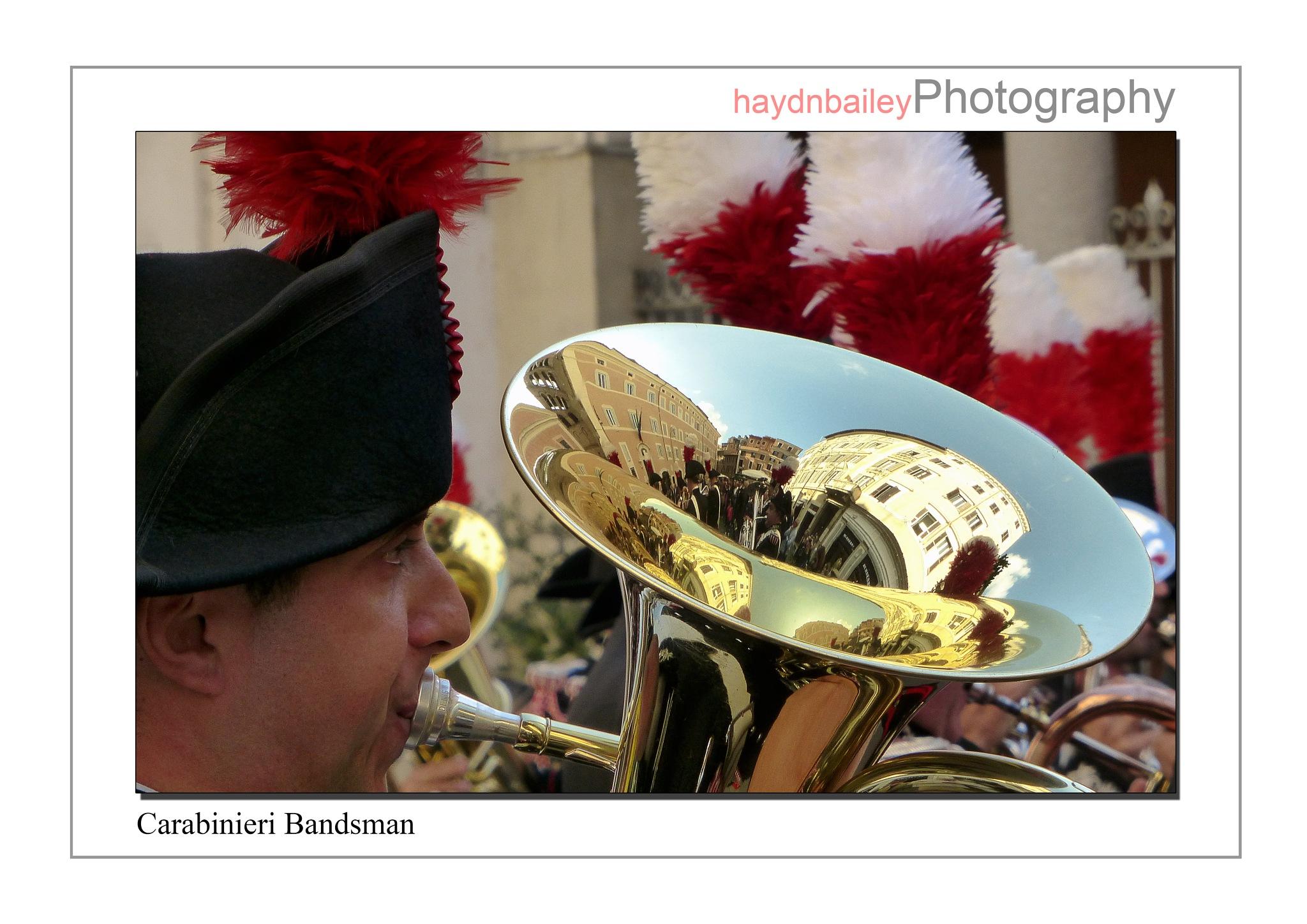 Carabinieri Bandsman by Haydn Bailey