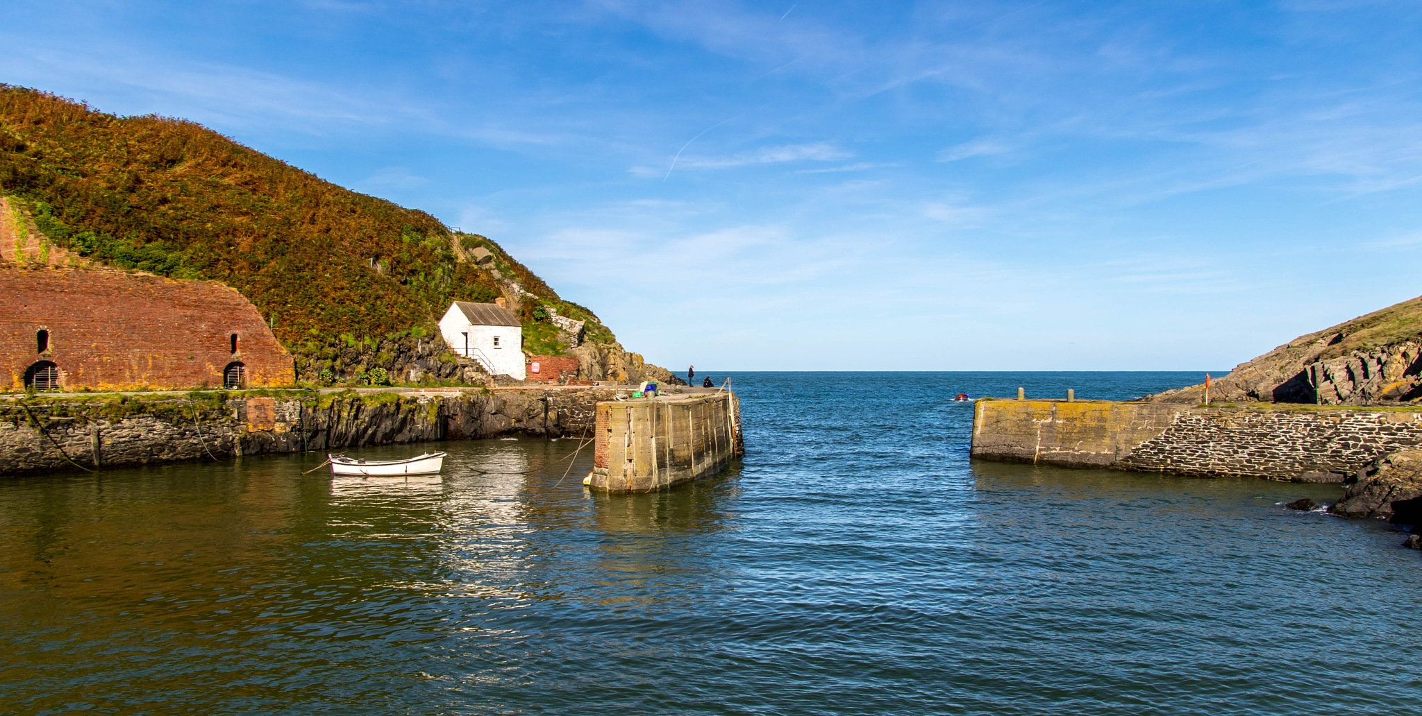 Porthgain Harbour by John Davies