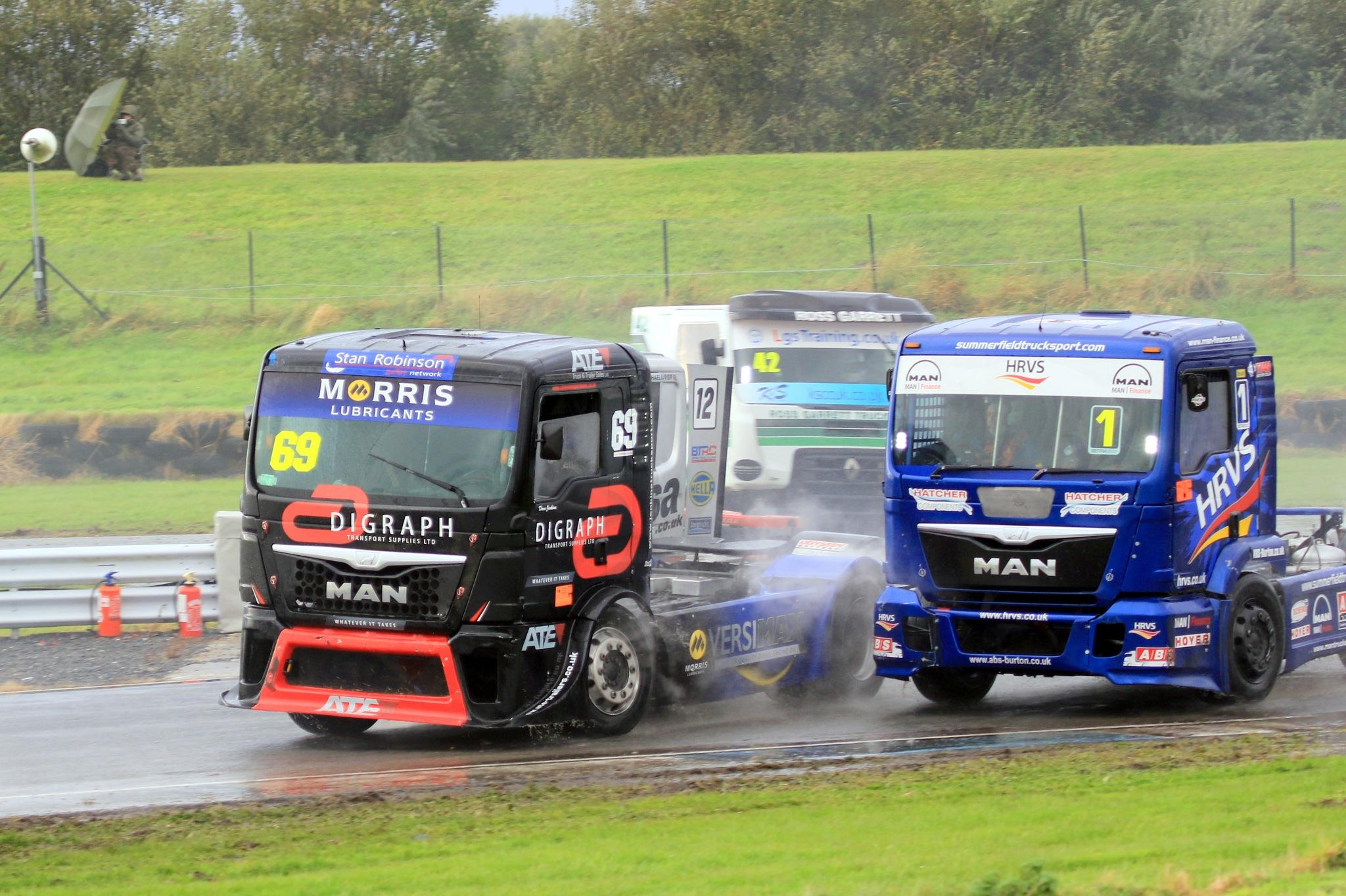 Truck Racing by John Davies