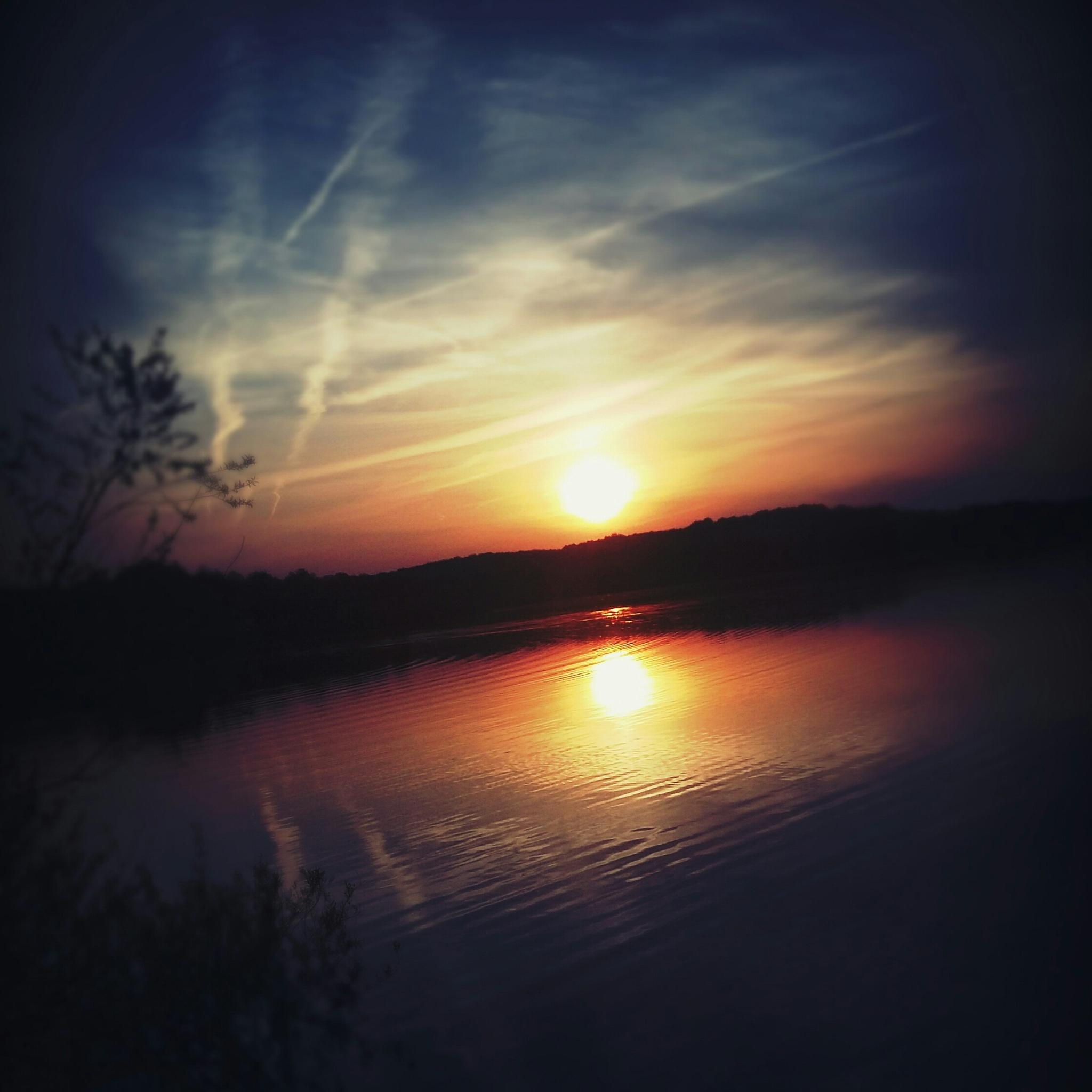 sunset by vannah