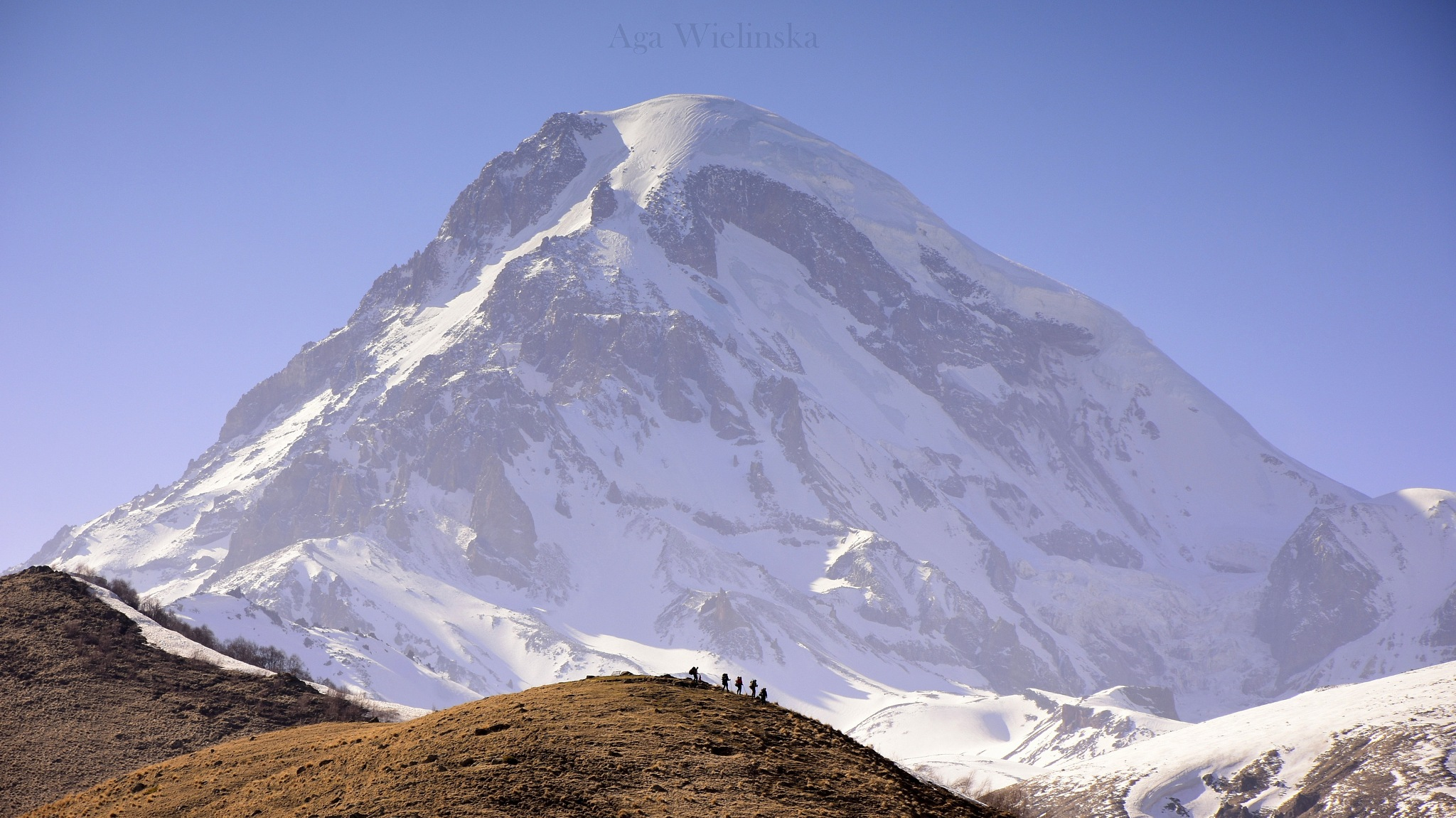 In the Shadow of the Mountain. by agawielinska