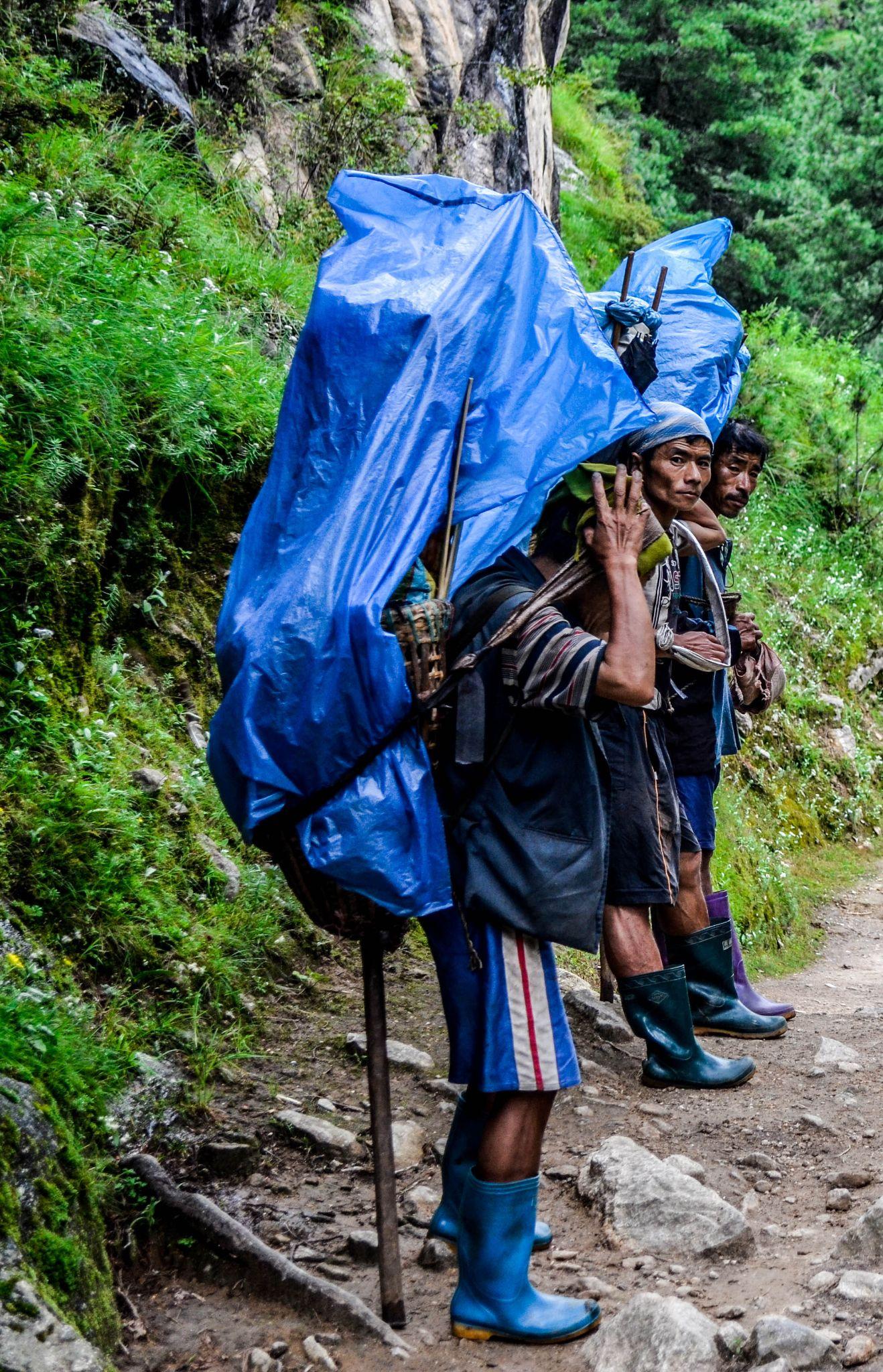 Porters by Yalamber Rai